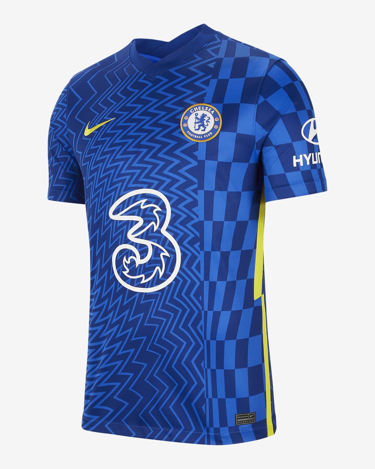 Camisola de futebol do equipamento principal Stadium Chelsea FC 2021/22 para homem