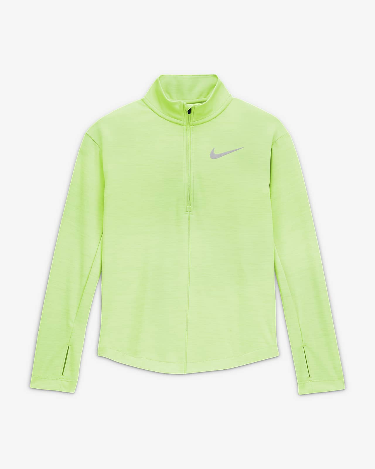 Nike Older Kids' (Girls') 1/2-Zip Long-Sleeve Running Top