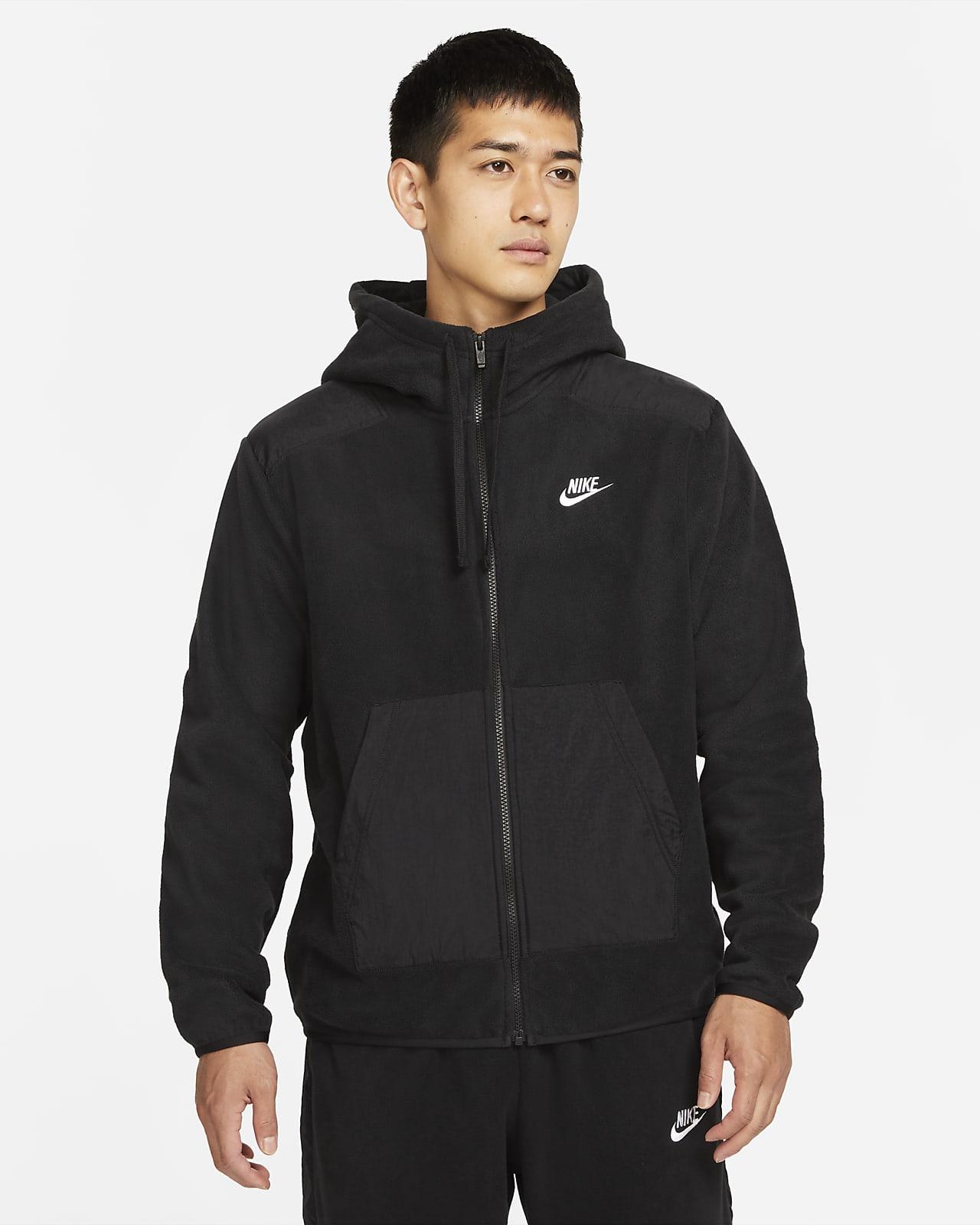 Hoodie de lã cardada com fecho completo Nike Sportswear Style Essentials+ para homem