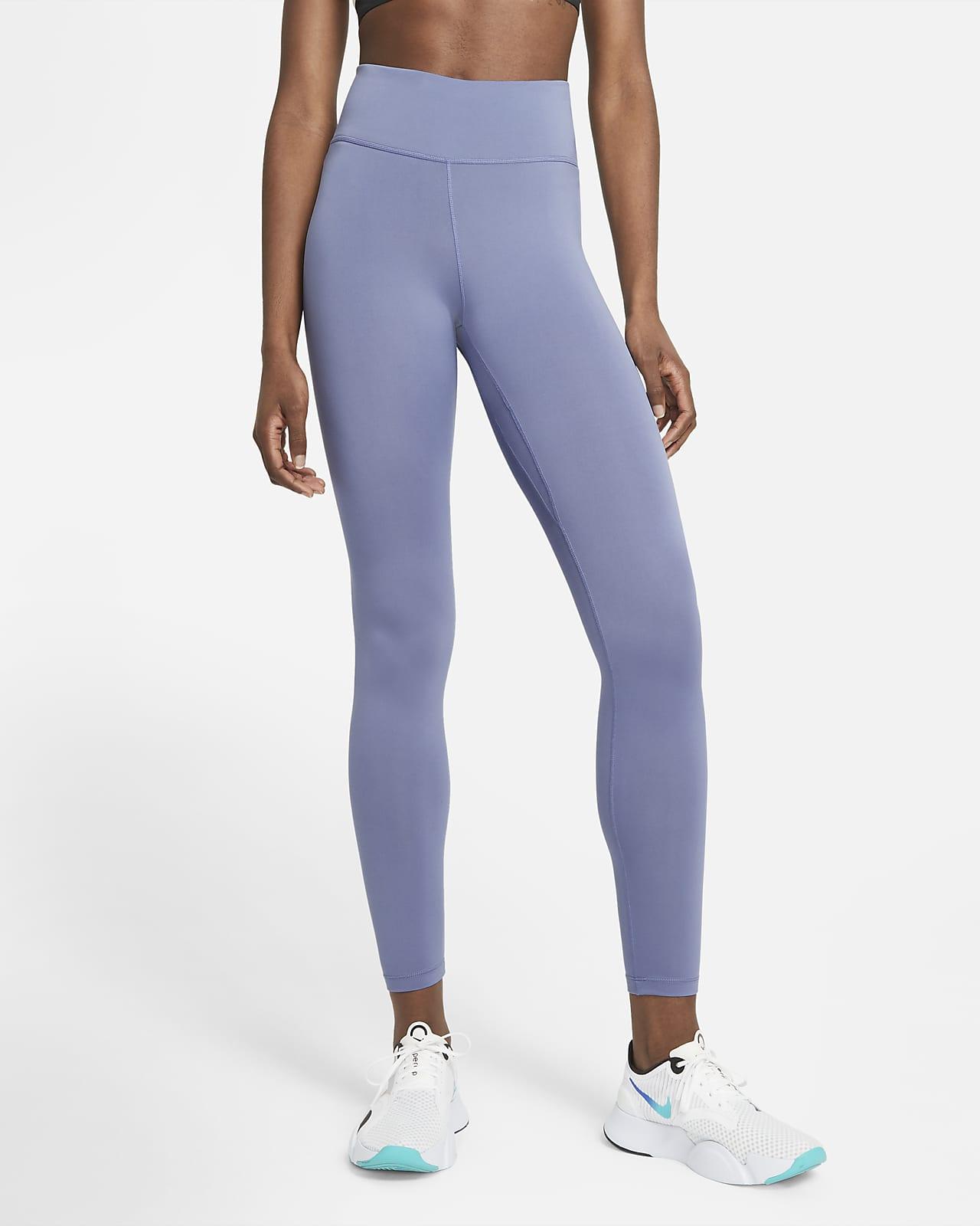 Nike One Damestights met halfhoge taille