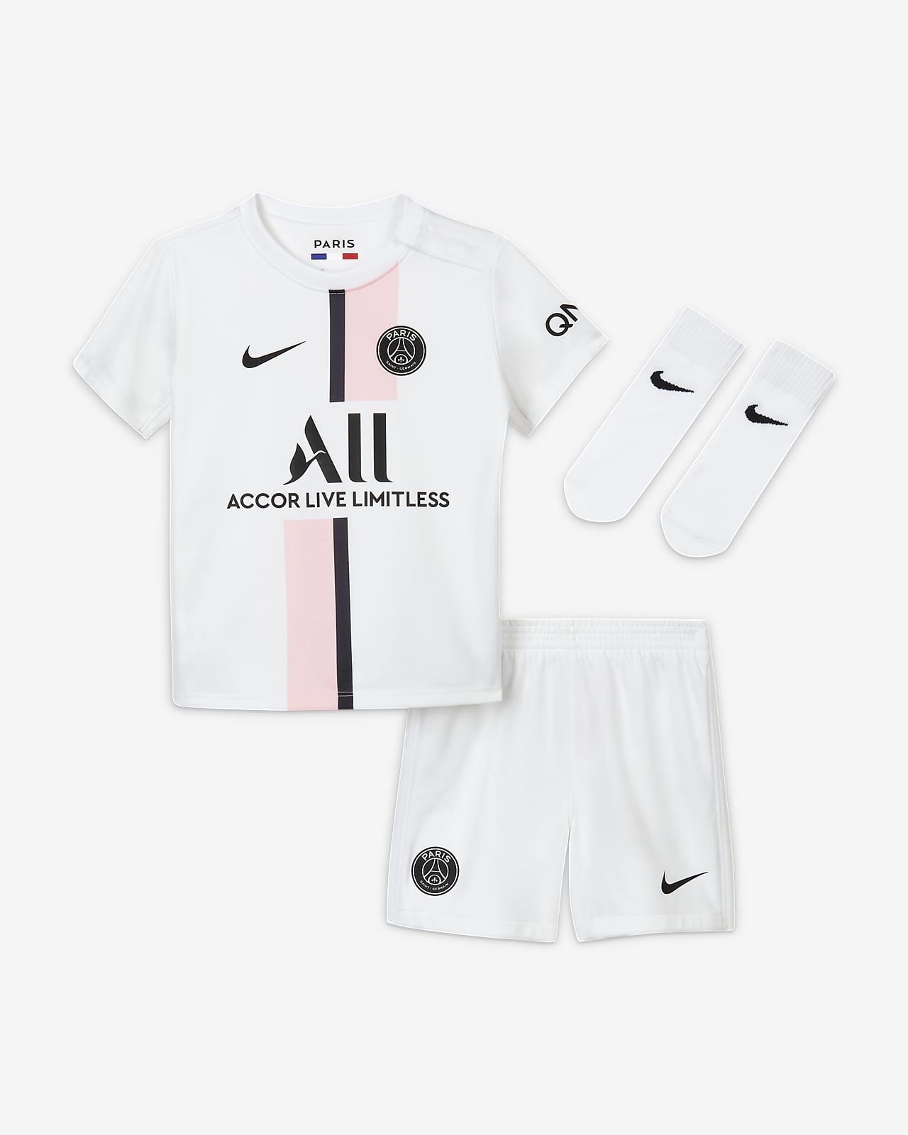 Tenue de football Paris Saint-Germain 2021/22 Extérieur pour Bébé et Petit enfant