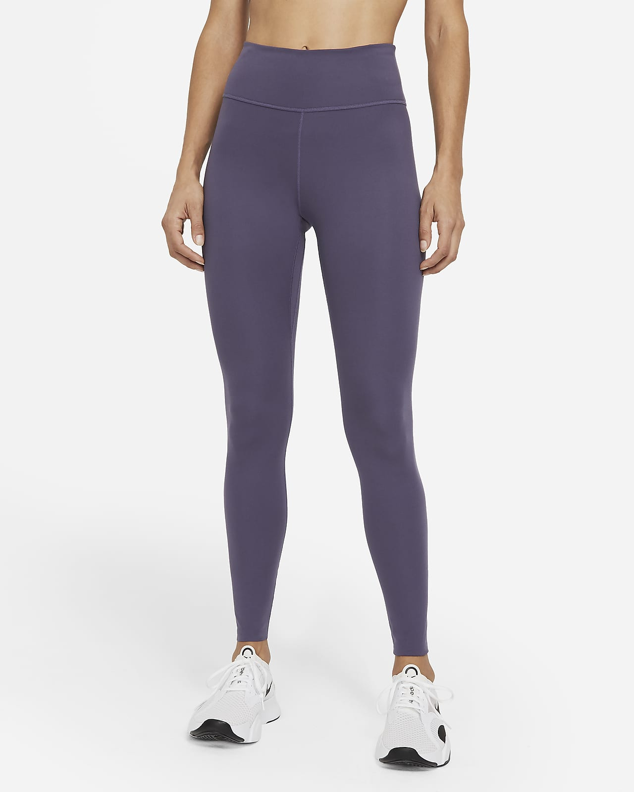 Leggings a vita media Nike One Luxe - Donna