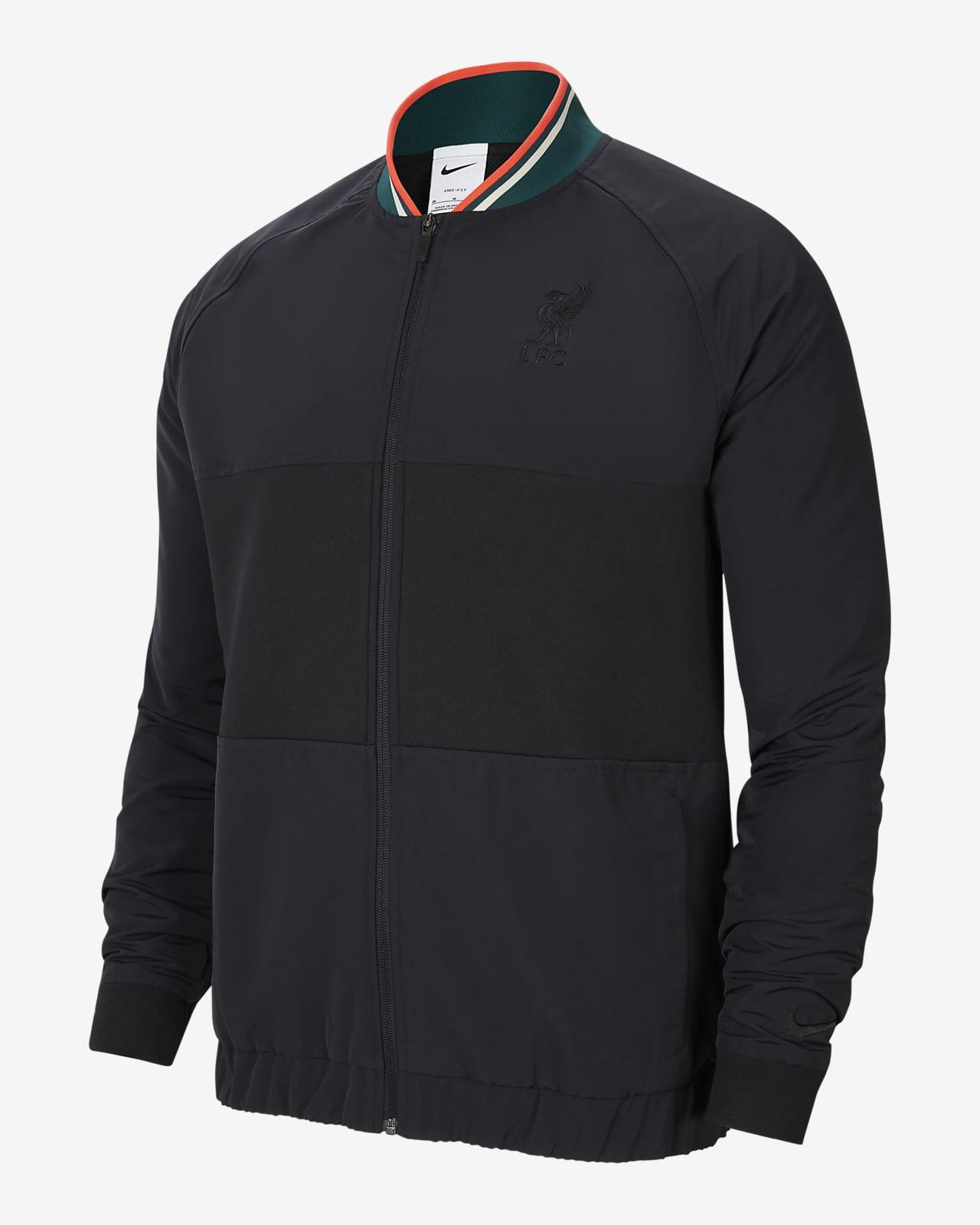 Liverpool F.C. Men's Nike Dri-FIT Full-Zip Football Jacket