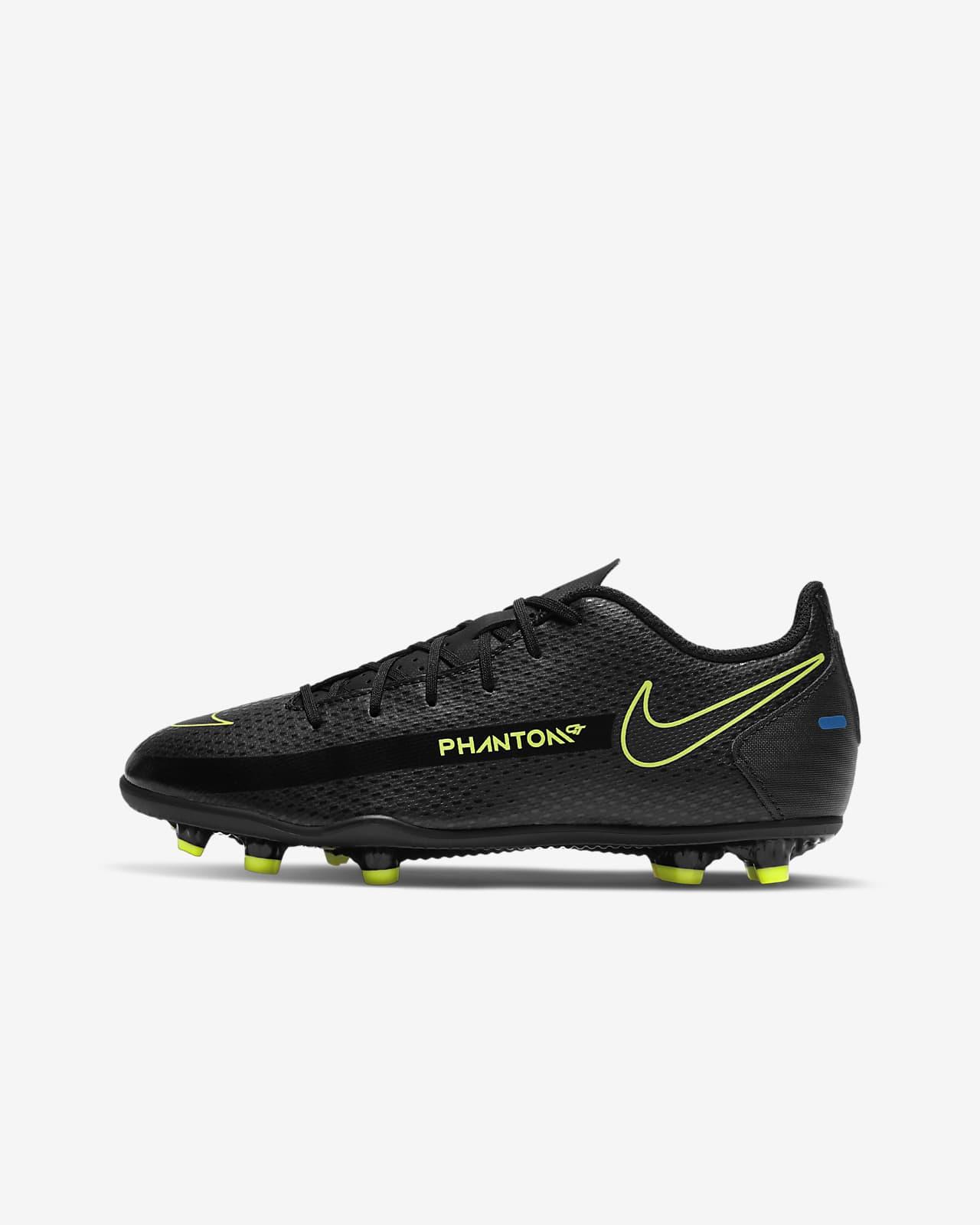 Calzado de fútbol para múltiples superficies para niños talla pequeña/grande Nike Jr. Phantom GT Club MG