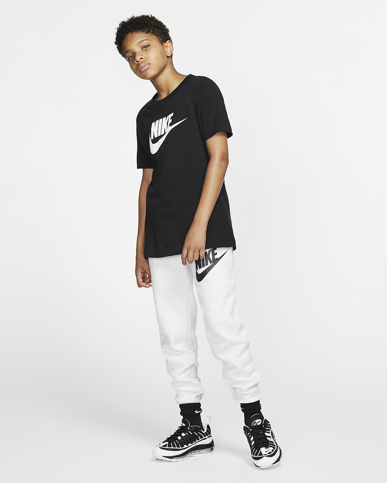 Fanático popurrí Maligno  Nike Sportswear Club Fleece Older Kids' (Boys') Trousers. Nike SA