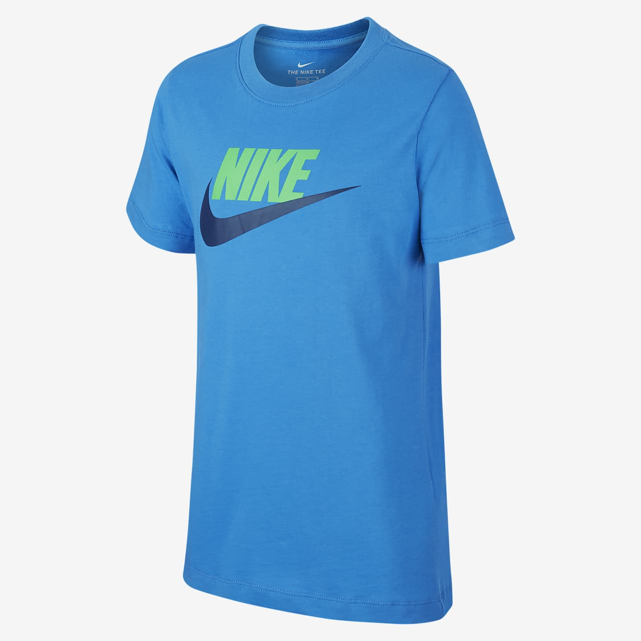 Nike Sportswear-T-shirt i bomuld til store børn