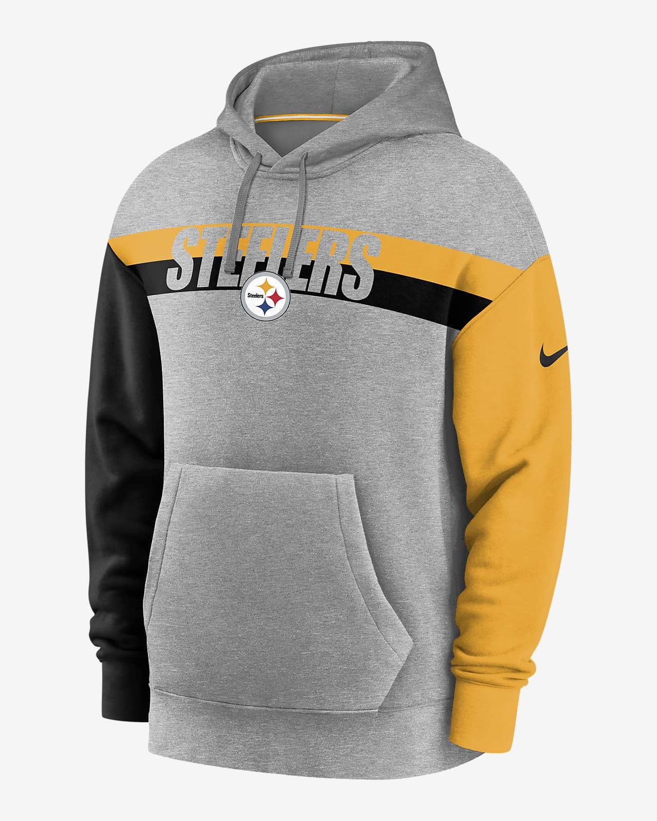 Decorativo Cierto Sui  Nike Wordmark (NFL Steelers) Men's Hoodie. Nike.com