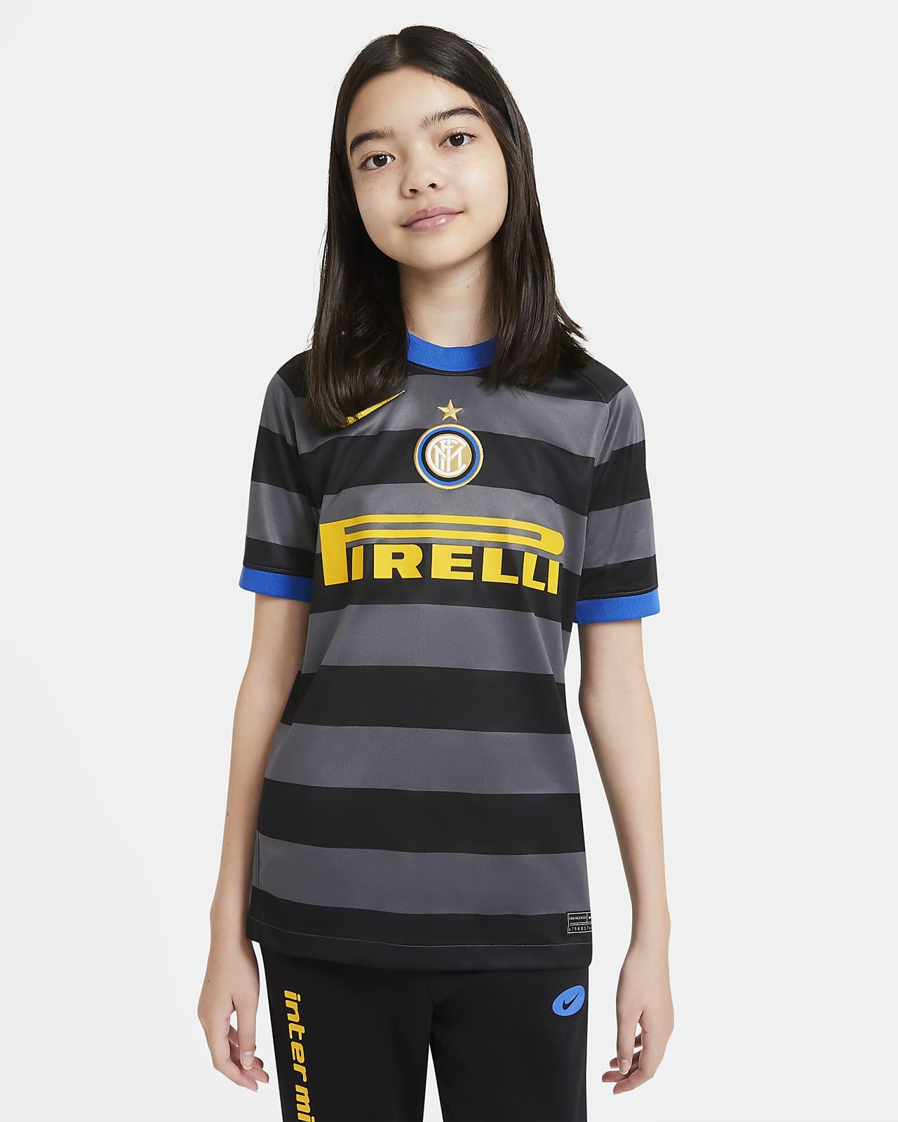 Fotbollströja Inter Milan 2020/21 Stadium Third för ungdom