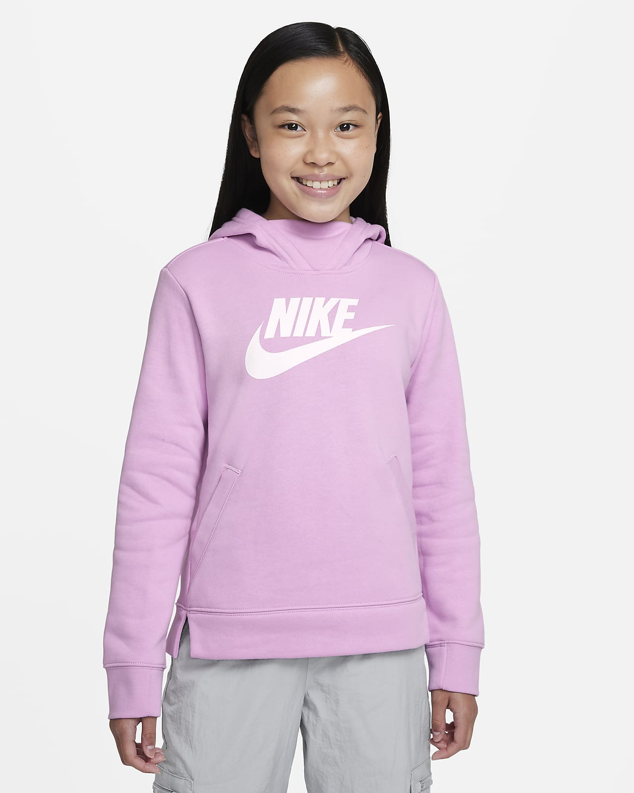 Nike Sportswear Big Kids' (Girls') Pullover Hoodie