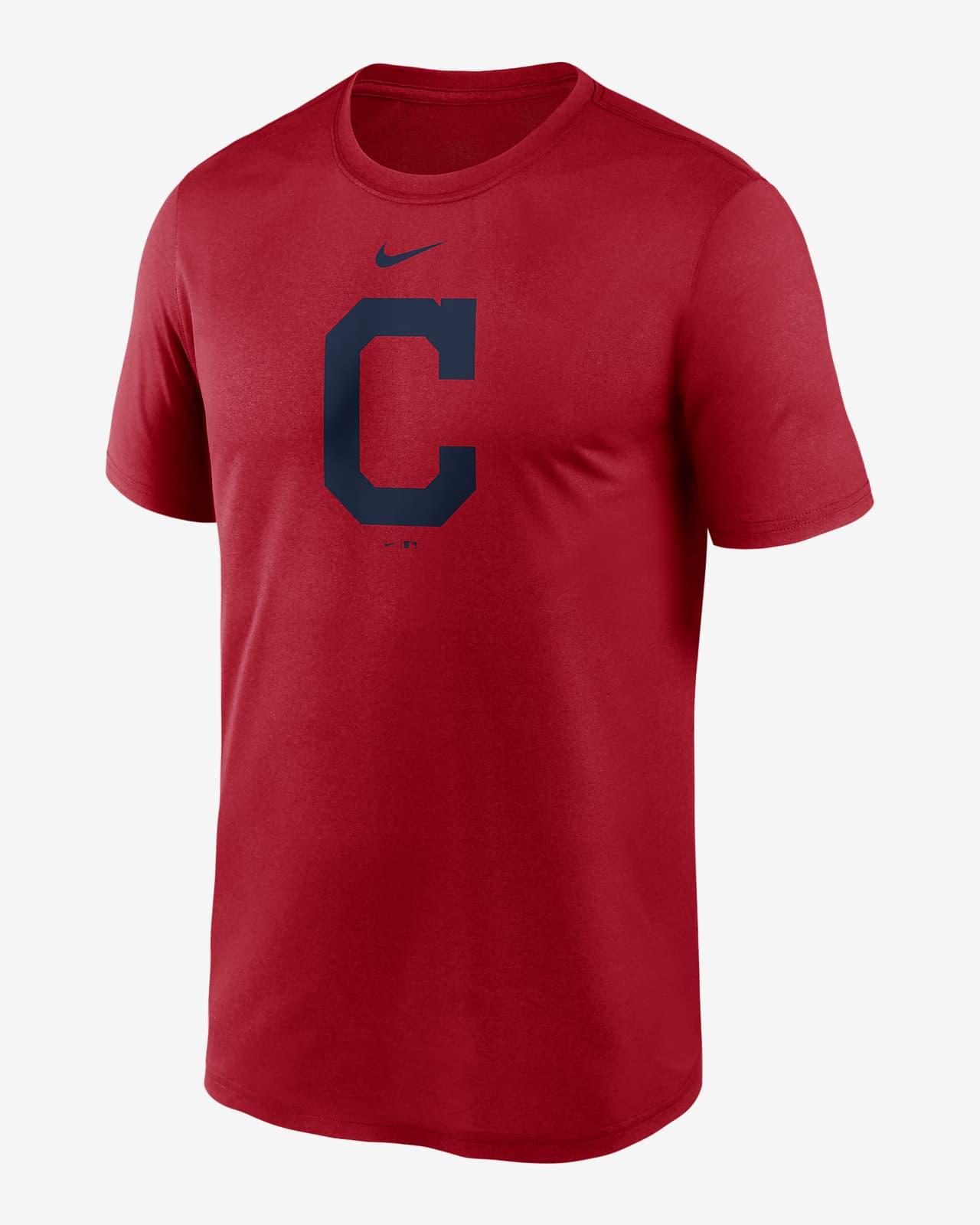 Nike Dri-FIT Logo Legend (MLB Cleveland) Men's T-Shirt