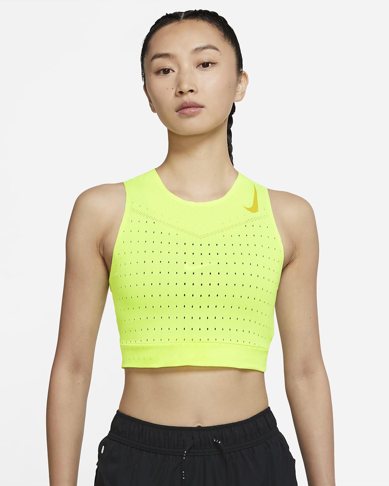 Nike 女子短款跑步背心