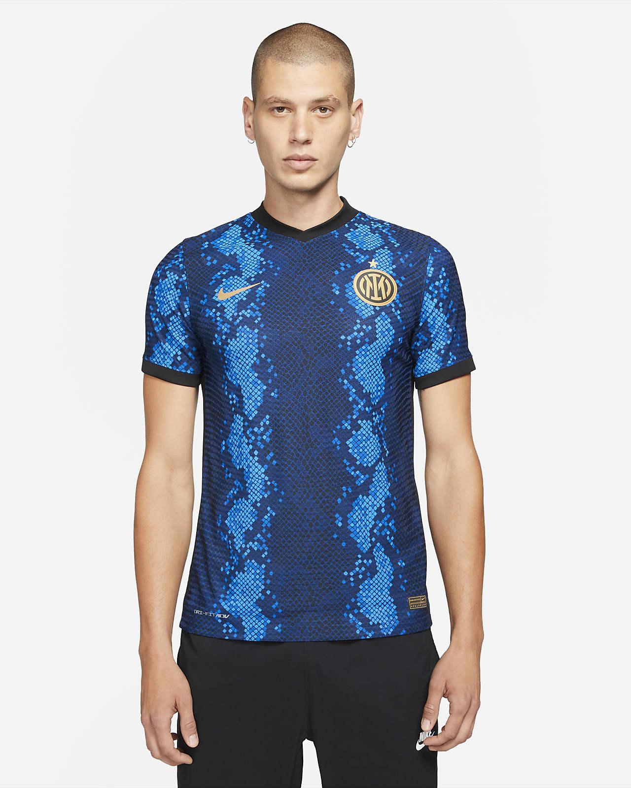 Camisola de futebol Nike Dri-FIT ADV do equipamento principal Match Inter de Milão 2021/22 para homem