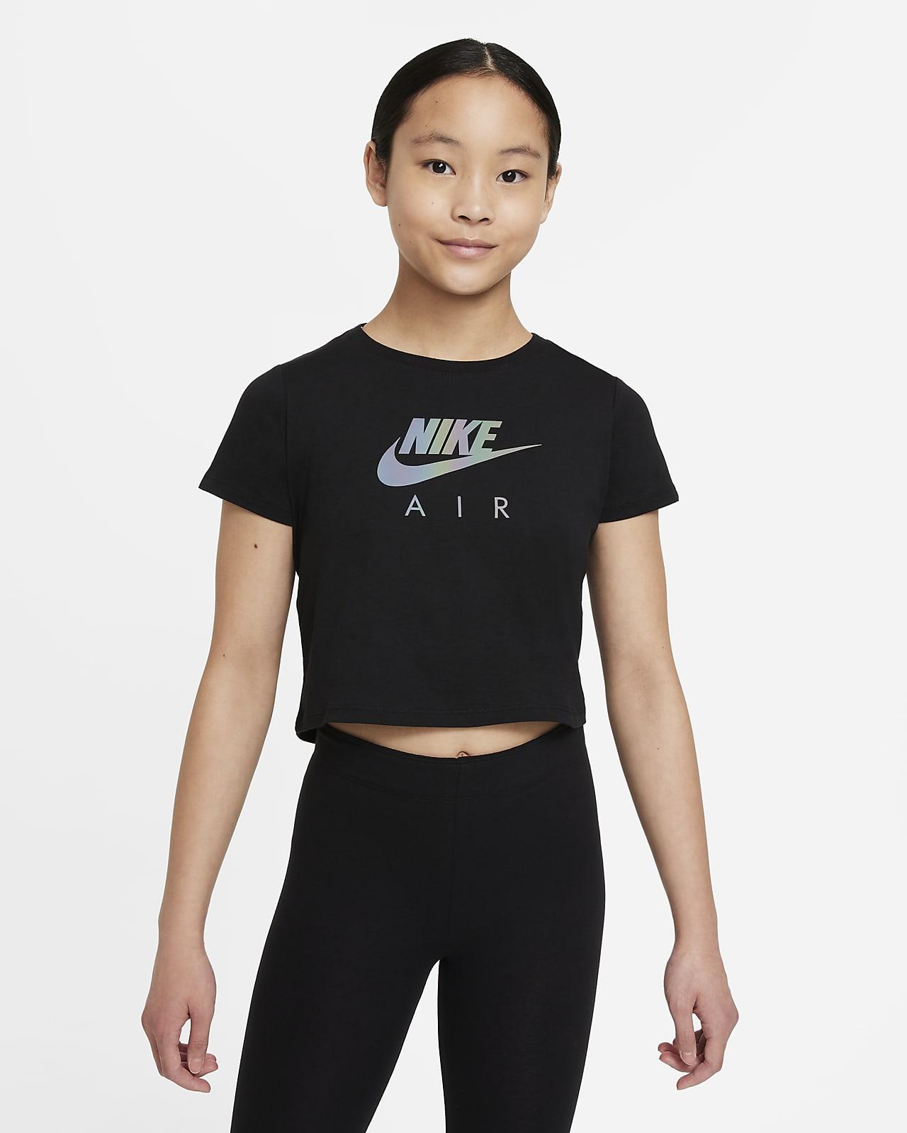 เสื้อยืดเอวลอยเด็กโต Nike Sportswear (หญิง)