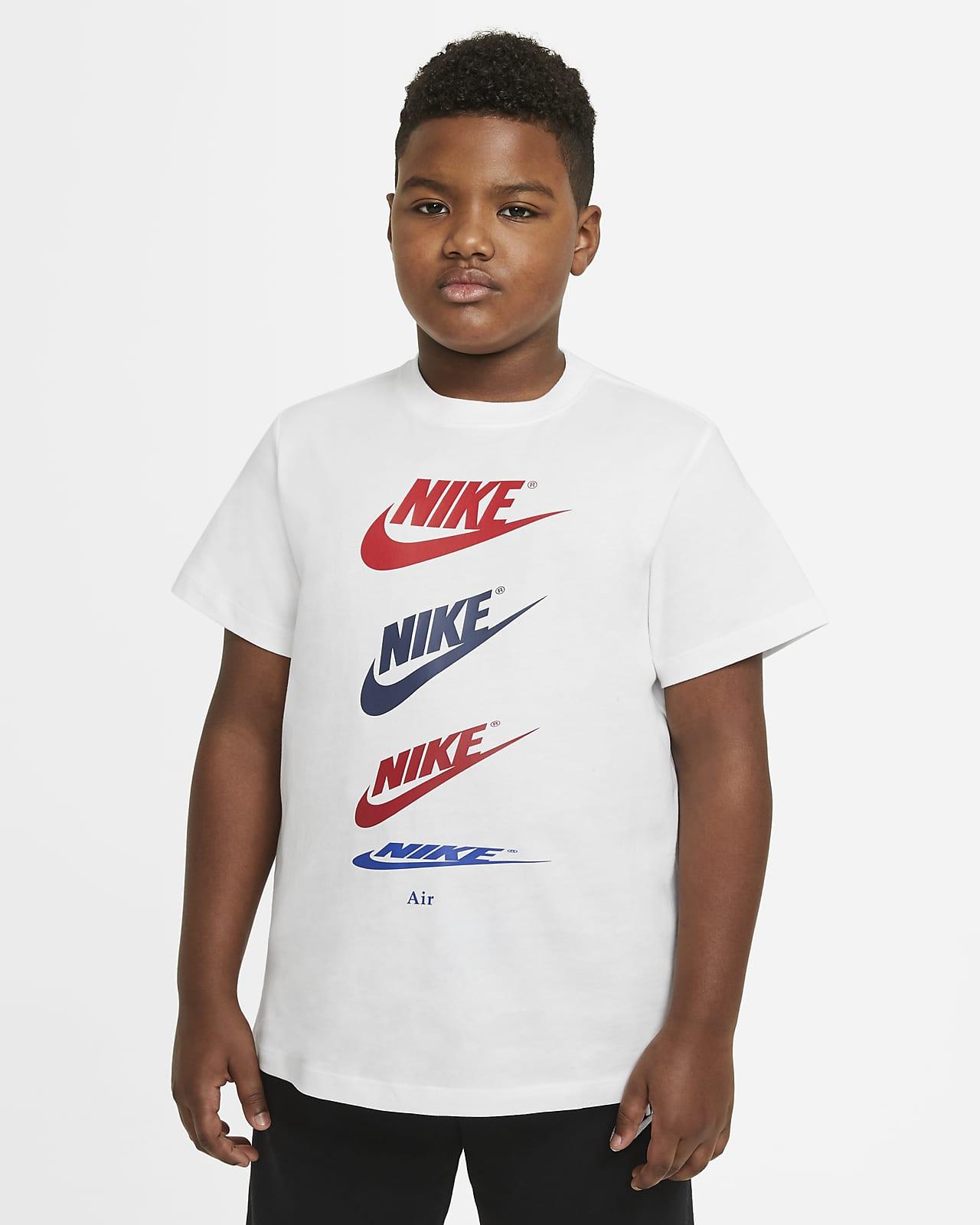 Nike Sportswear T-Shirt für ältere Kinder (Jungen) (erweiterte Größe)