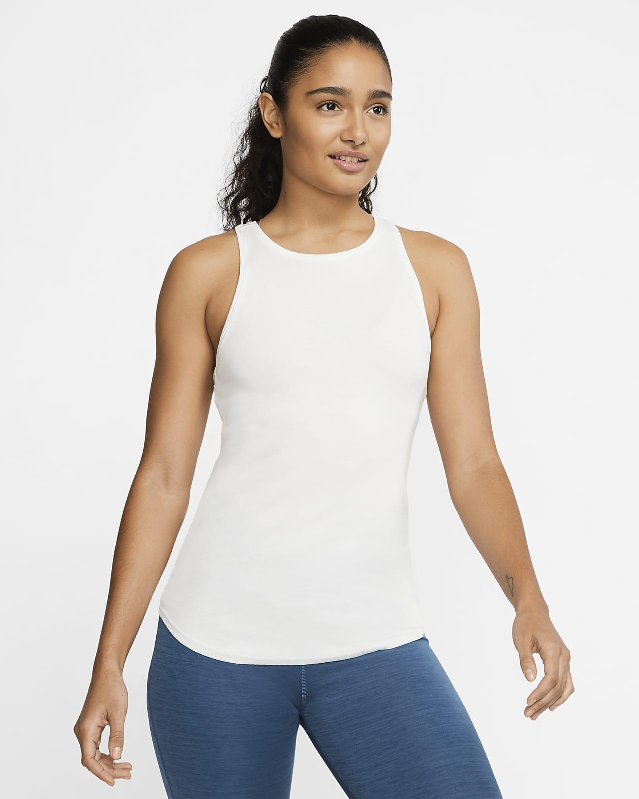 Nike Yoga Luxe Women S Ribbed Tank Nike Lu