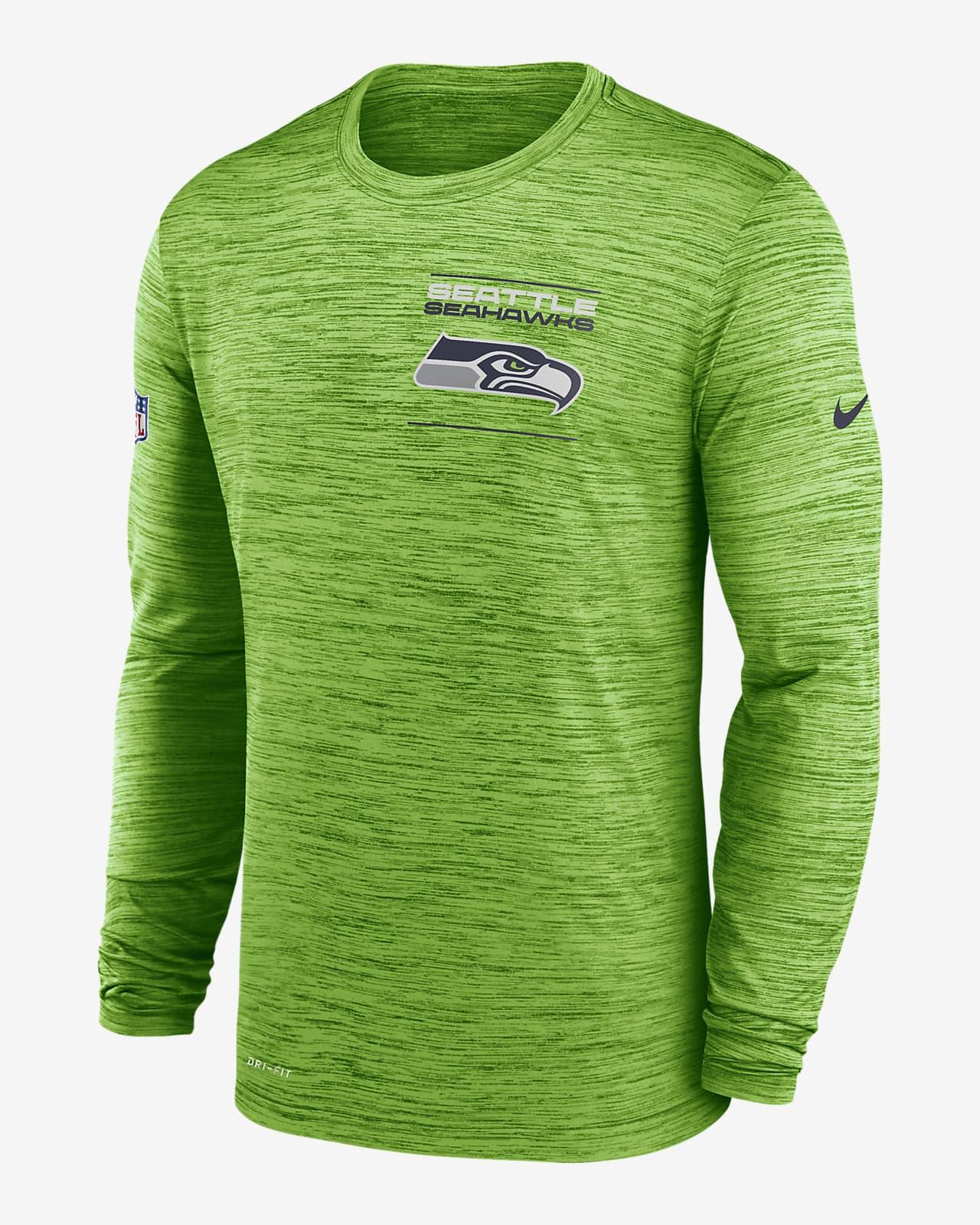 Nike Dri-FIT Sideline Velocity Legend (NFL Seattle Seahawks) Men's Long-Sleeve T-Shirt