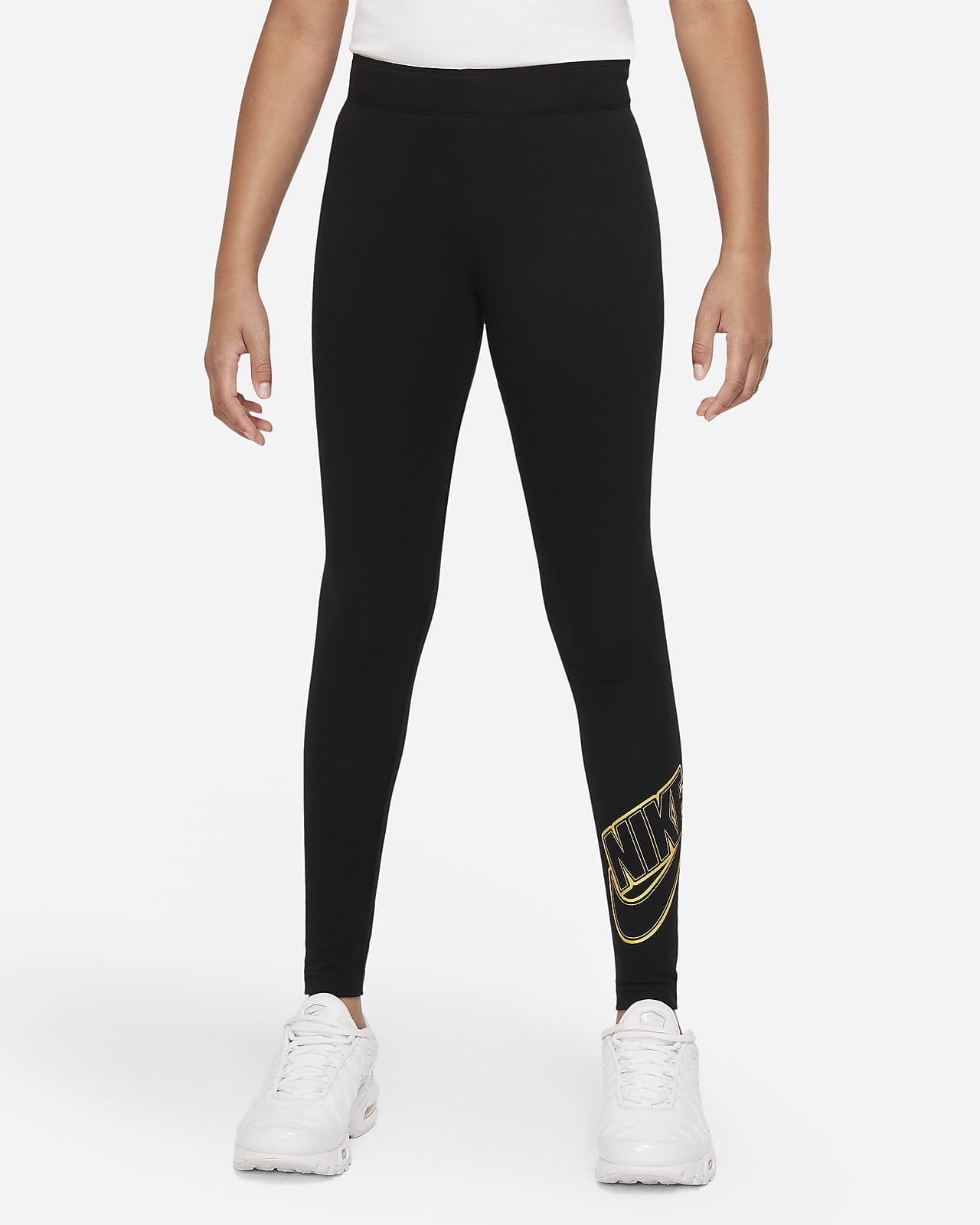 Nike Sportswear Favorites Big Kids' (Girls') Graphic Leggings
