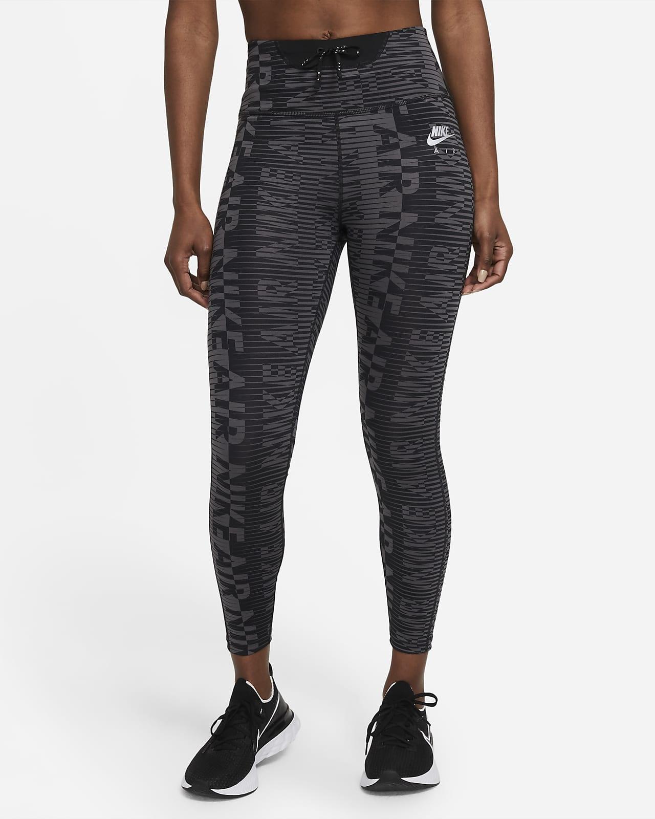 เลกกิ้งวิ่งเอวสูงผู้หญิง 7/8 ส่วนพิมพ์ลาย Nike Air Epic Fast