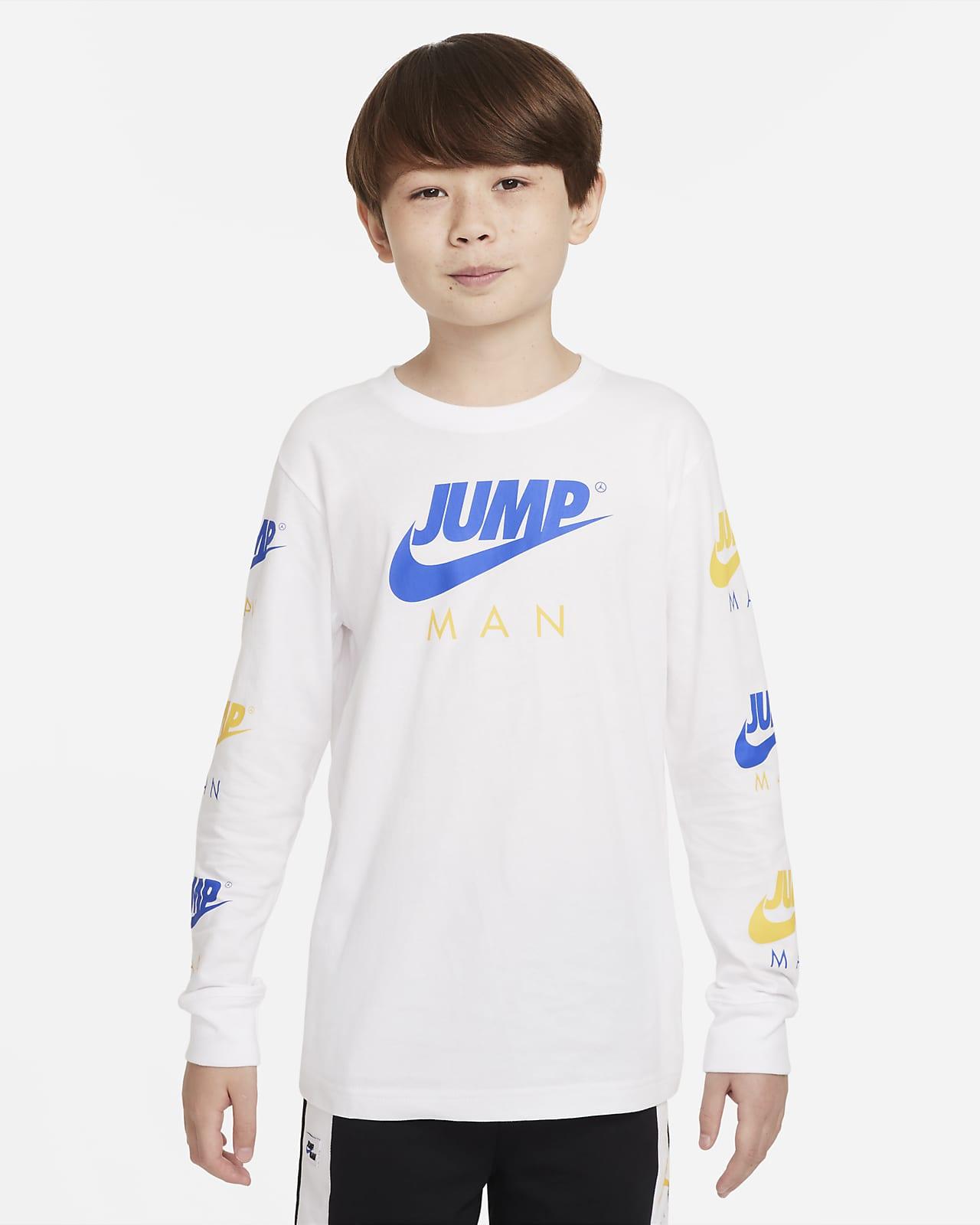 Playera para niño talla grande Jordan Jumpman
