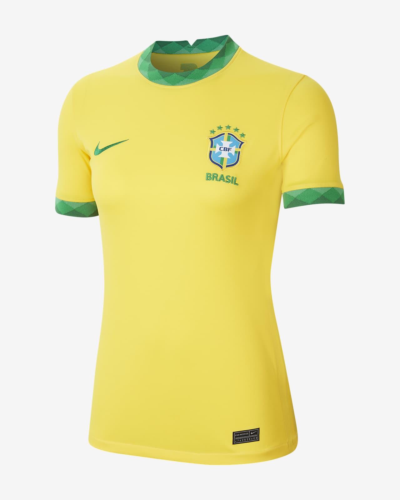 Maillot de football Brésil 2020 Stadium Domicile pour Femme