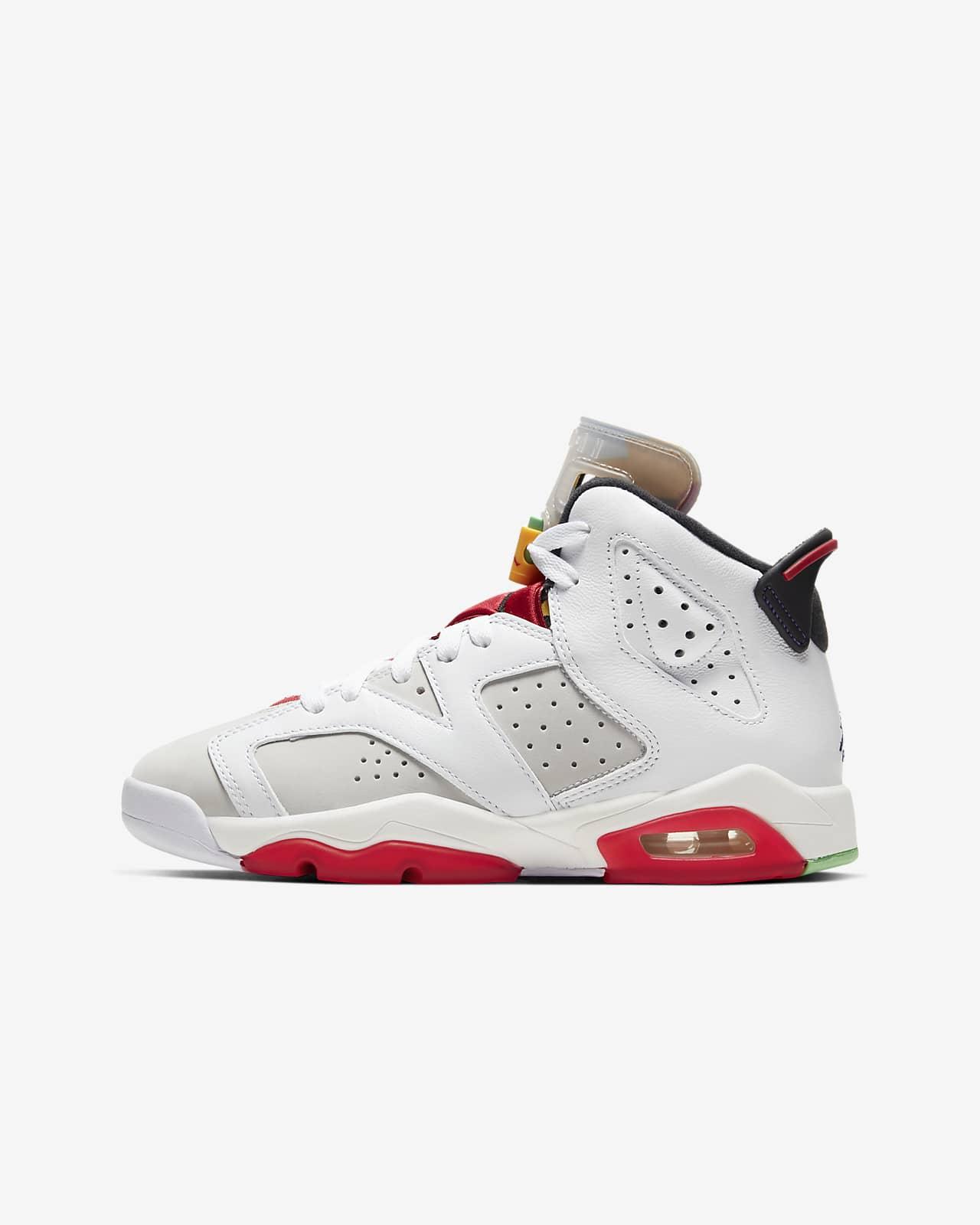 Air Jordan 6 Retro Big Kids' Shoe. Nike JP