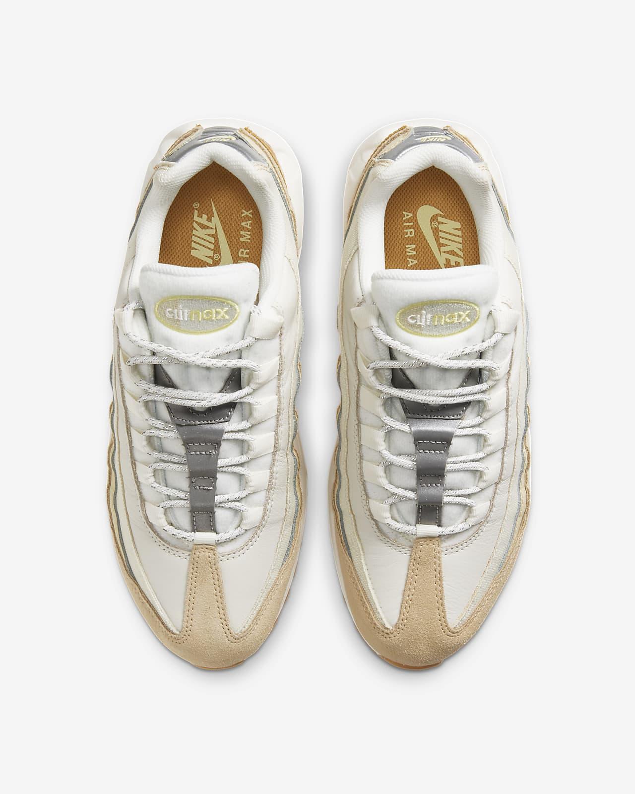 scarpe nike donna air max pelle oro