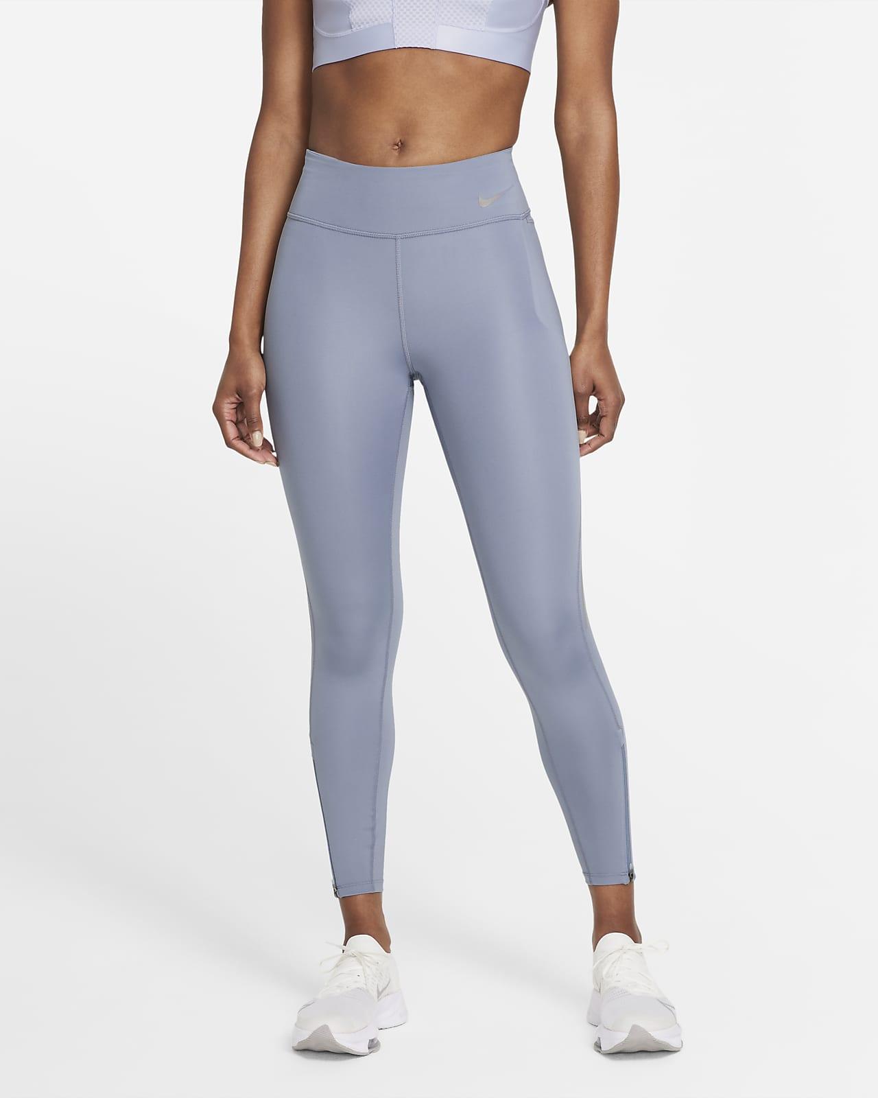 Damskie legginsy 7/8 ze średnim stanem do biegania Nike Epic Fast