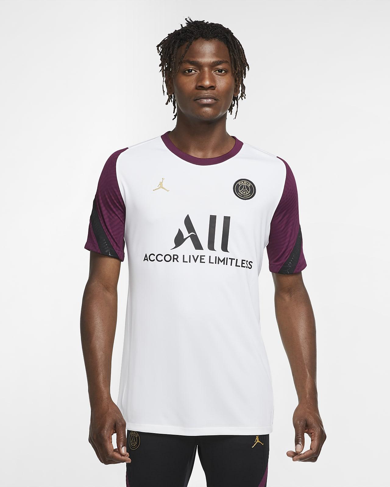 เสื้อฟุตบอลแขนสั้นผู้ชาย Paris Saint-Germain Strike