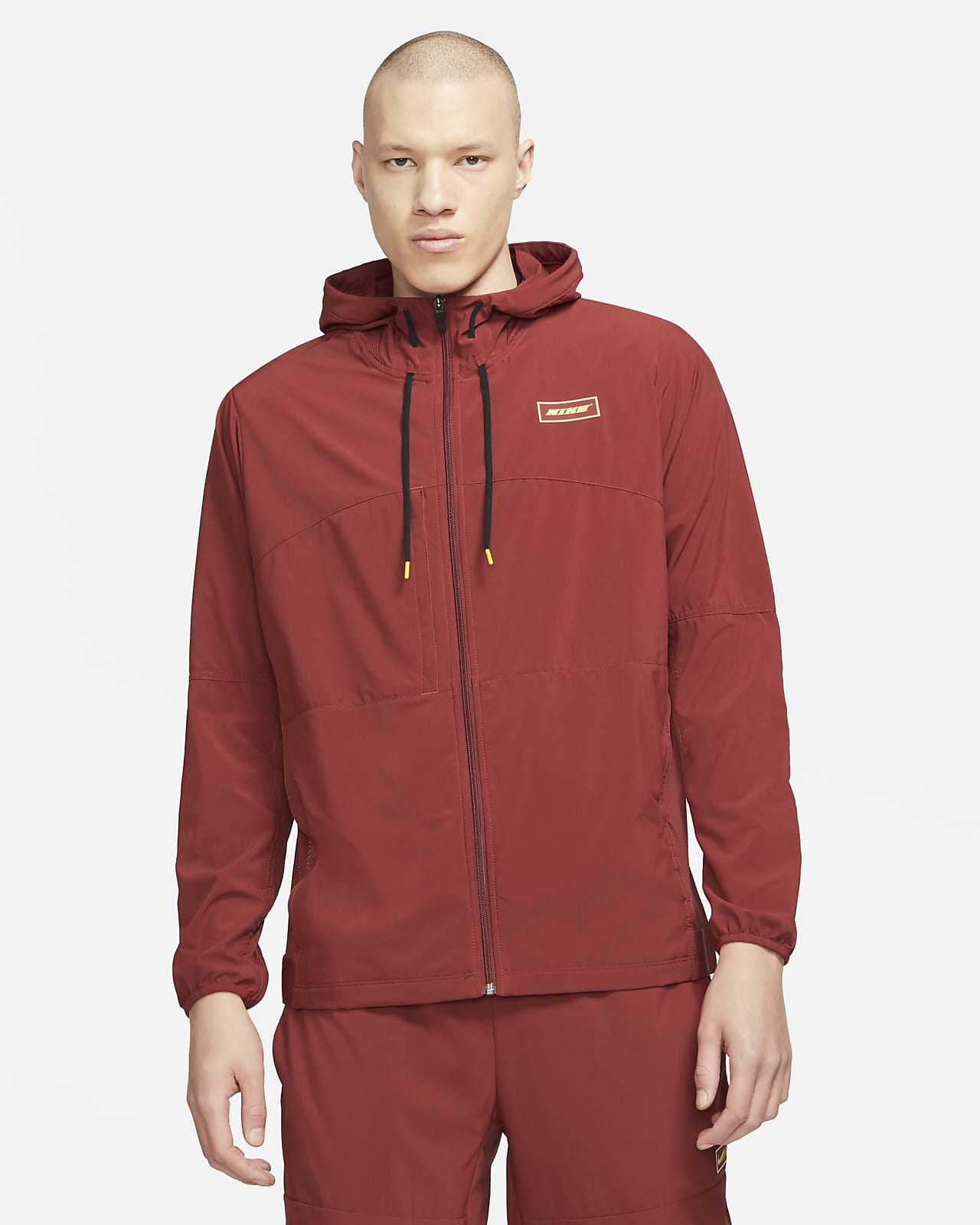 Nike Sport Clash-træningsjakke med lynlås til mænd