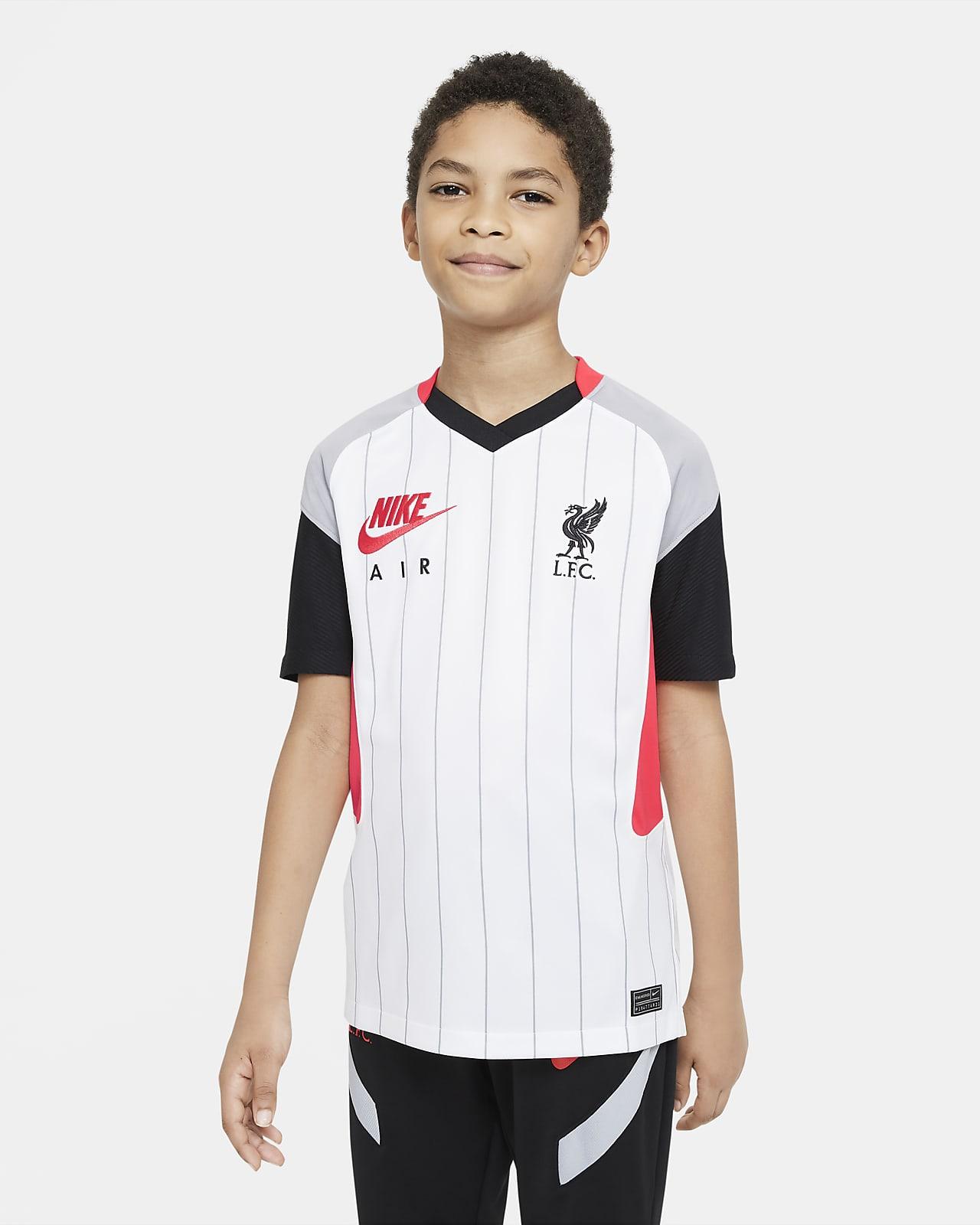 Liverpool FC Stadium Air Max Big Kids' Soccer Jersey