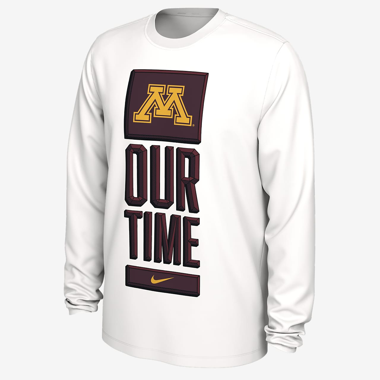 Nike College Dri-FIT (Minnesota) Men's Long-Sleeve T-Shirt
