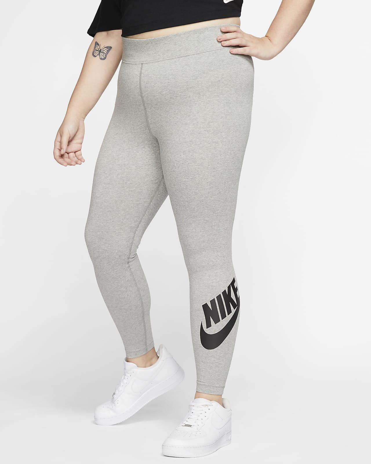 Nike Sportswear Leg-A-See Women's High-Rise Leggings (Plus Size)