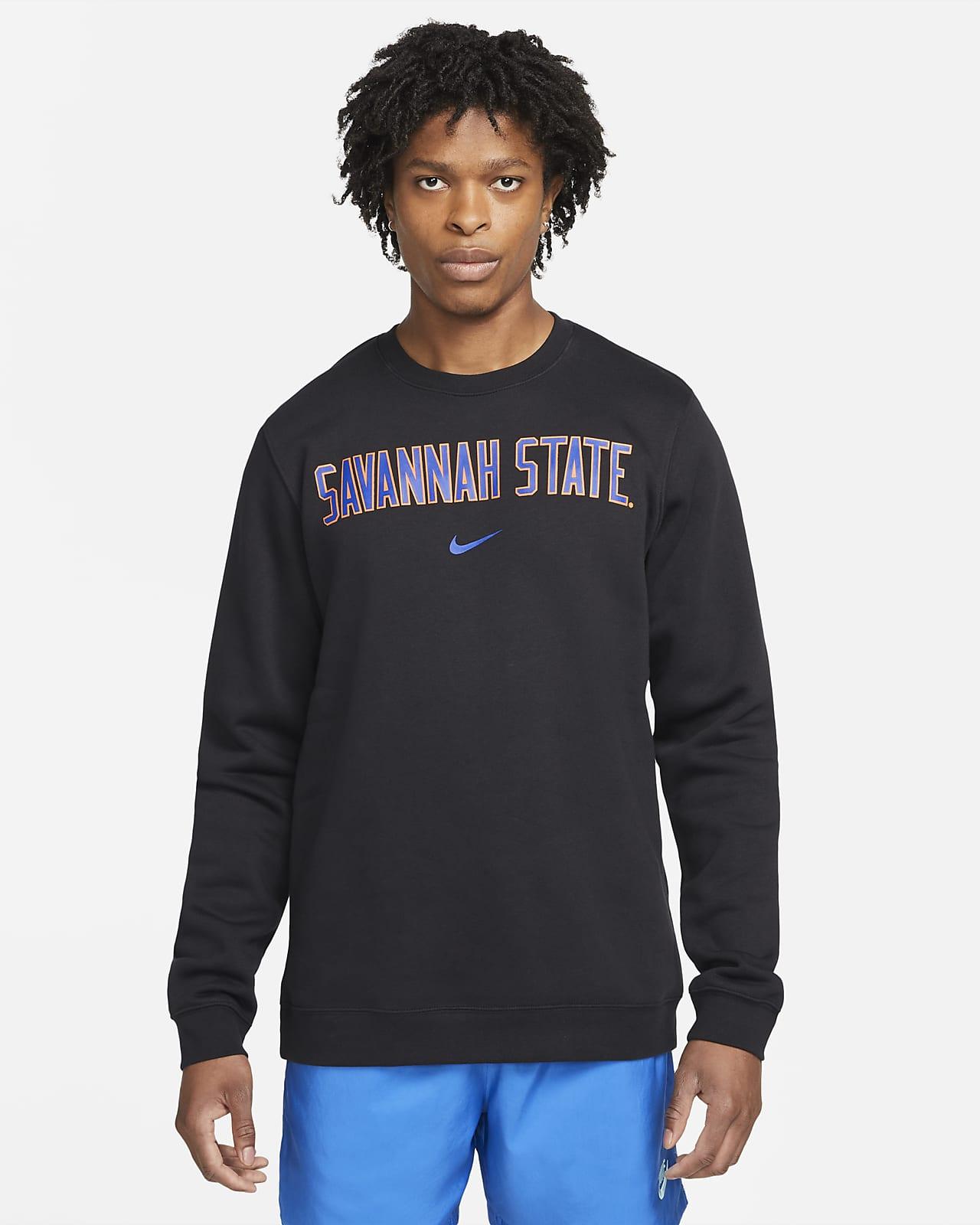 Nike College Club Fleece (Savannah State) Crew Sweatshirt