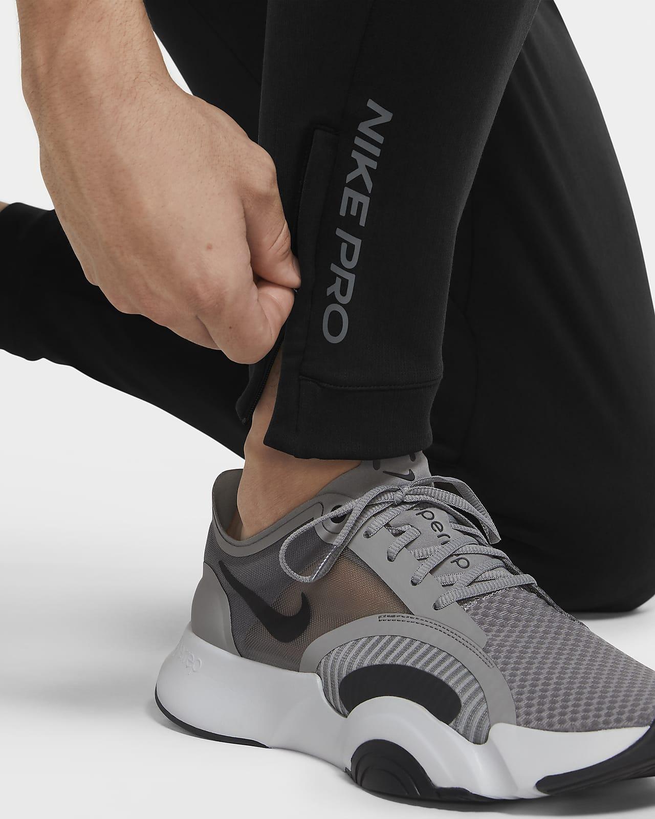 Pantalon en tissu Fleece Nike Pro pour Homme. Nike CA
