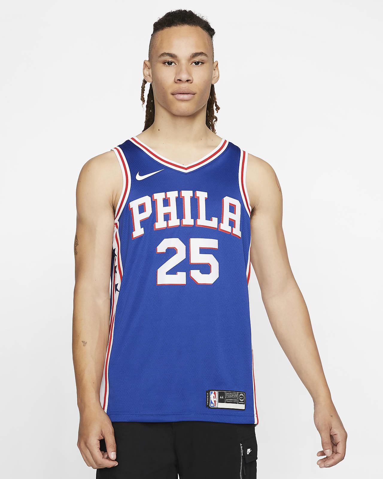 Camisola NBA da Nike Swingman Ben Simmons 76ers Icon Edition