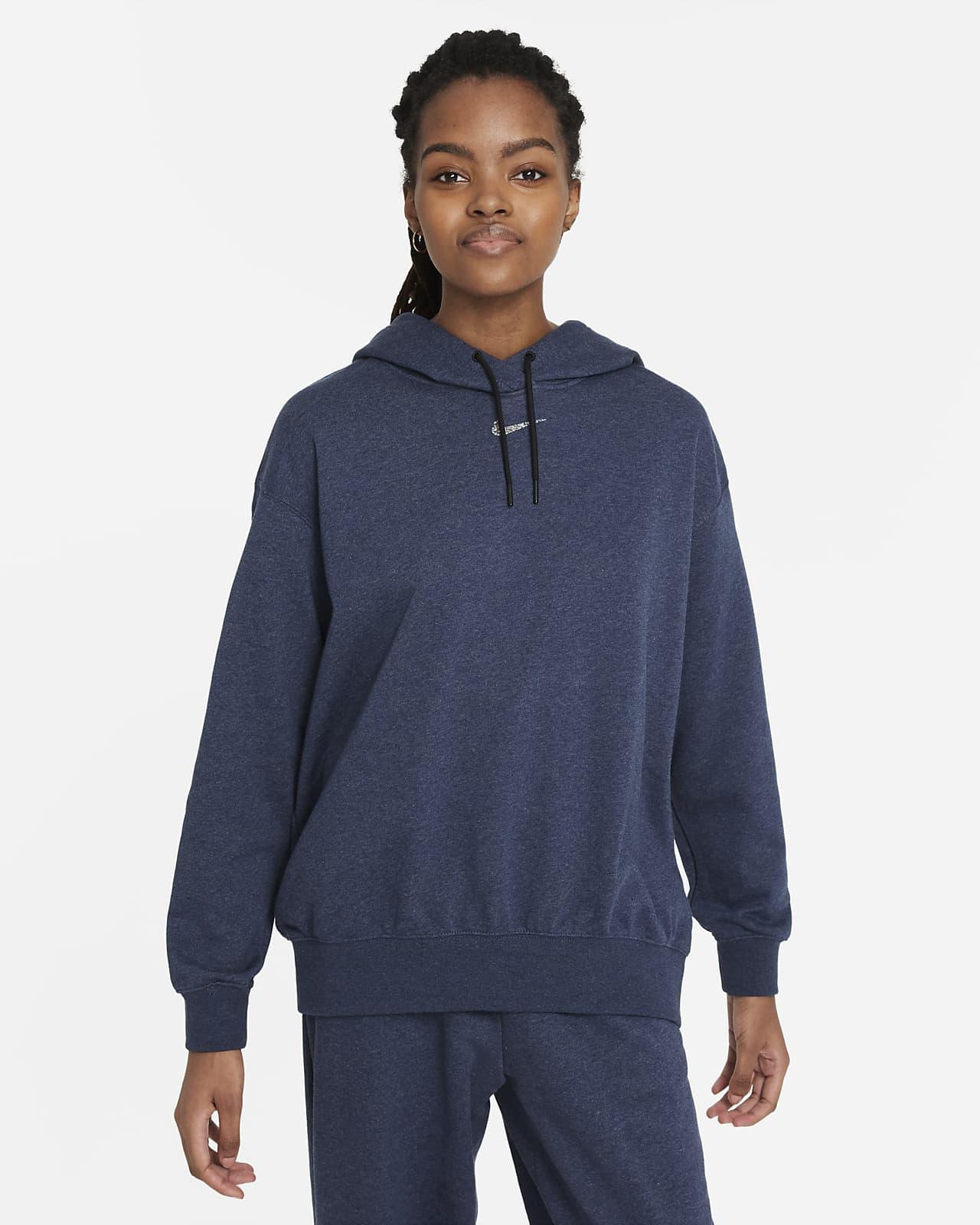 Nike Sportswear Collection Essentials Easy-fleecehættetrøje til kvinder