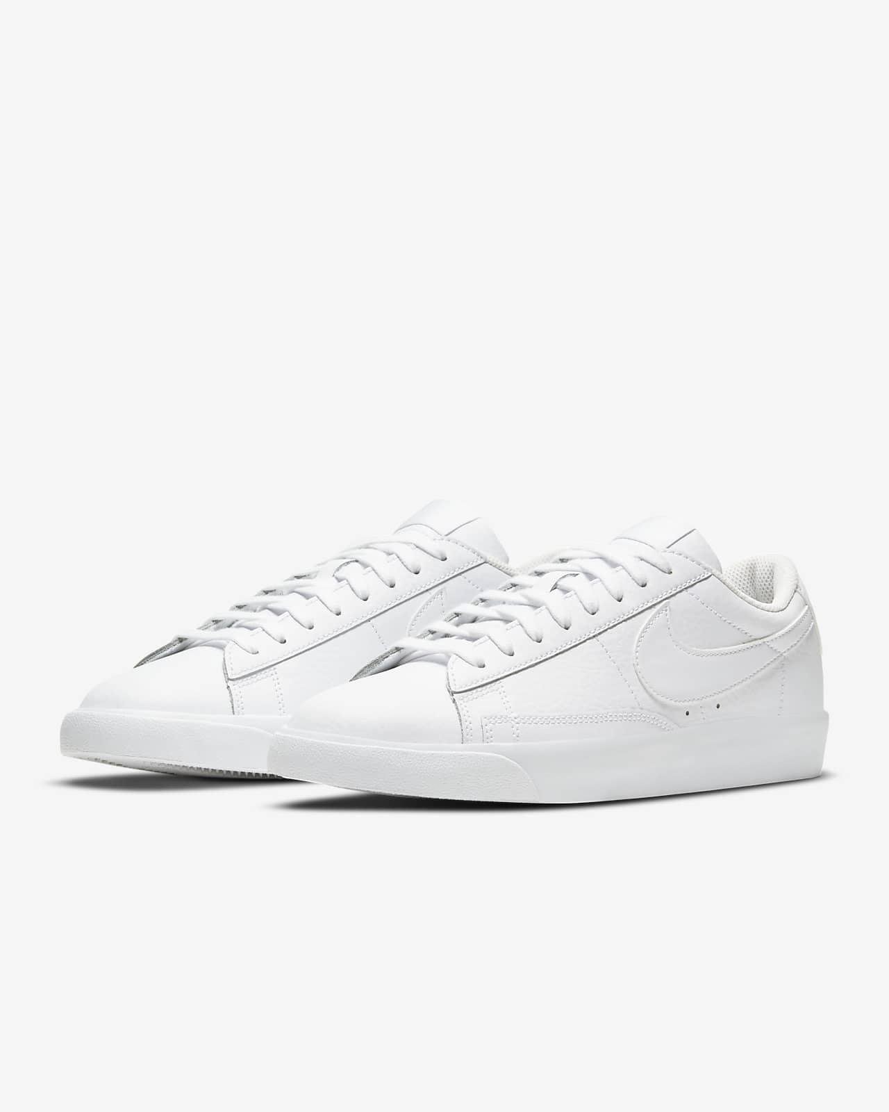 nike blazer sneakers in white