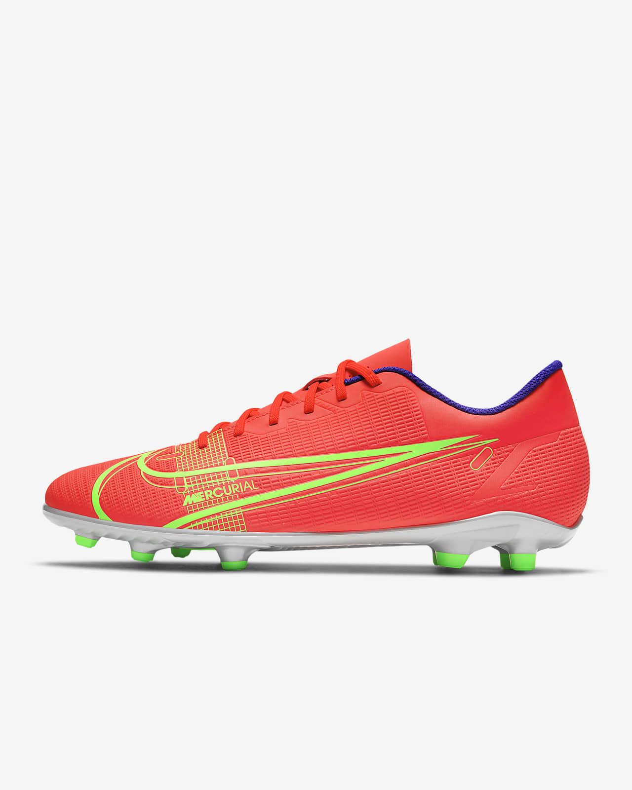 รองเท้าสตั๊ดฟุตบอลสำหรับพื้นหลายประเภท Nike Mercurial Vapor 14 Club FG/MG