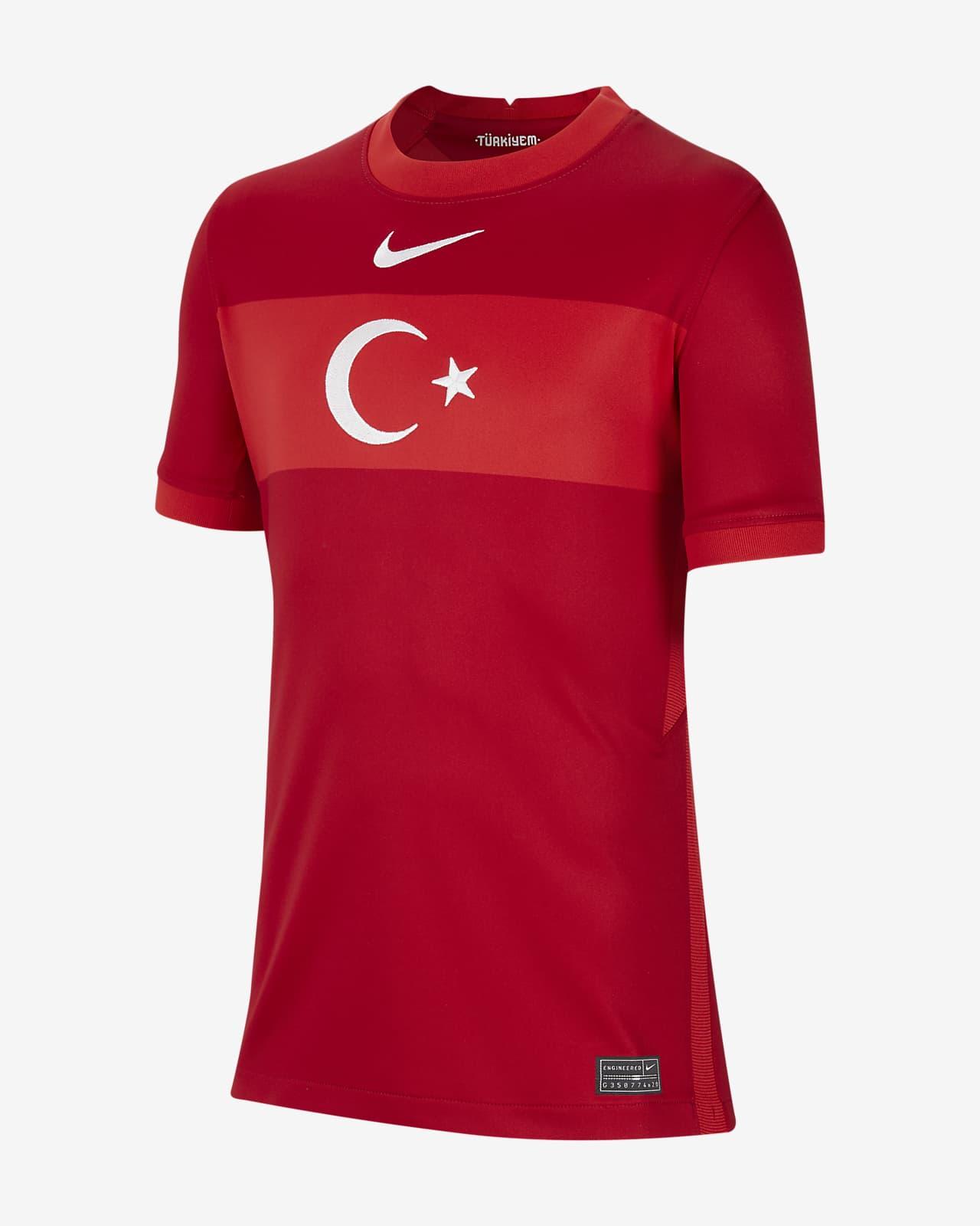 grieta Serena Regeneración  Camiseta de fútbol para niños talla grande Turkey 2020 Stadium Away. Nike CL