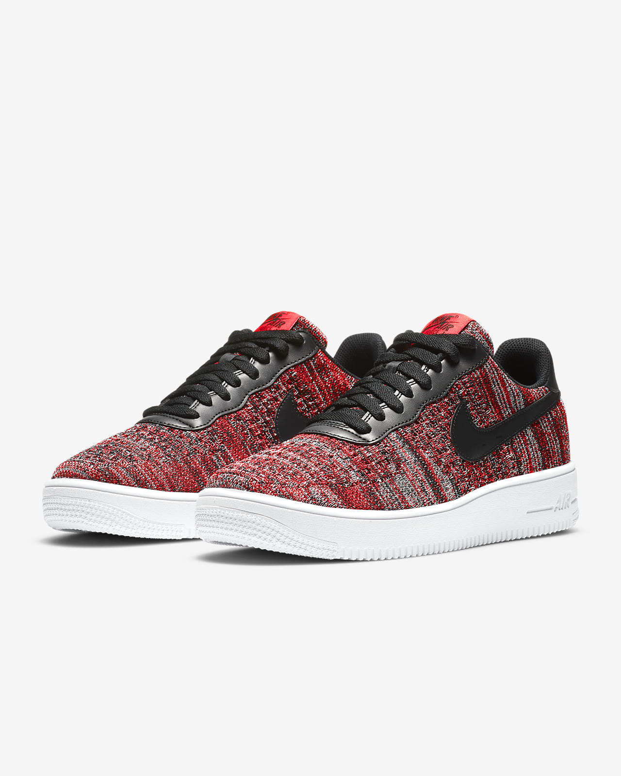nike air force 1 flyknit homme grise
