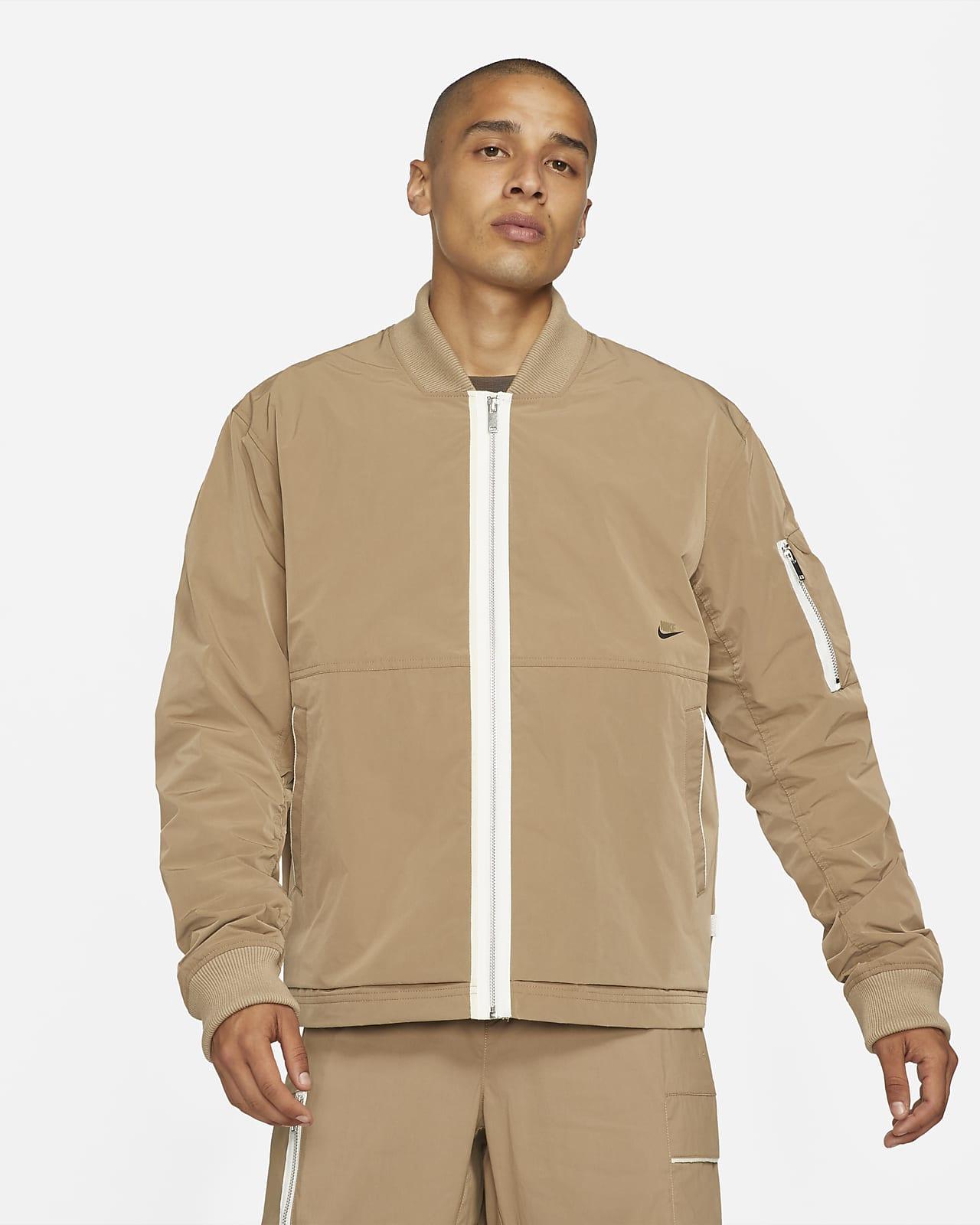 Veste aviateur avec doublure Nike Sportswear Style Essentials pour Homme