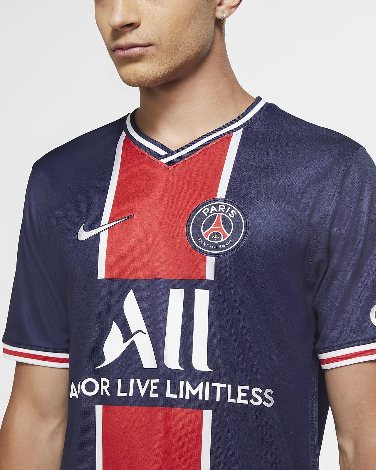 Paris Saint Germain 2020 21 Stadium Home Men S Soccer Jersey Nike Com