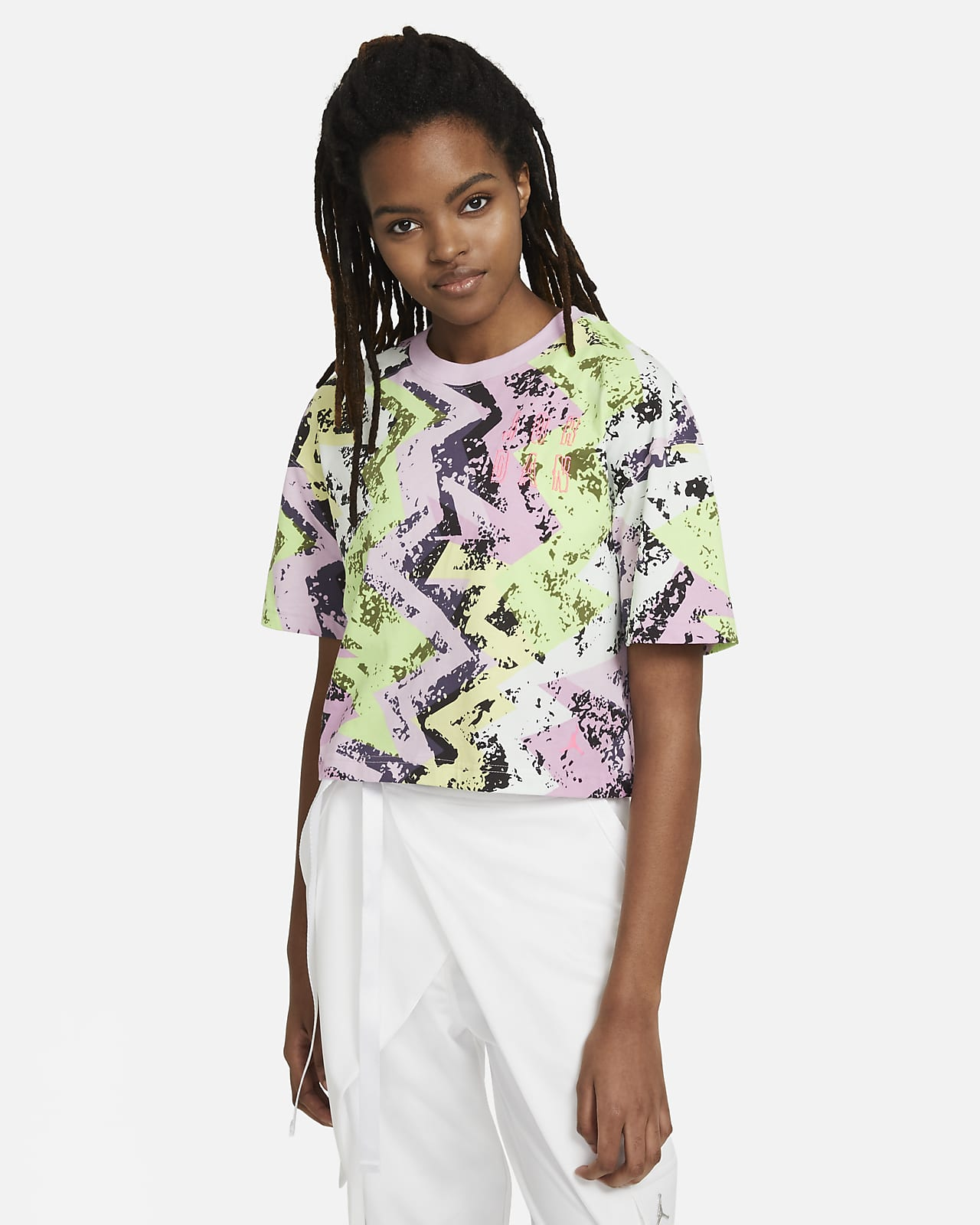 Jordan Heatwave Camiseta cuadrada - Mujer
