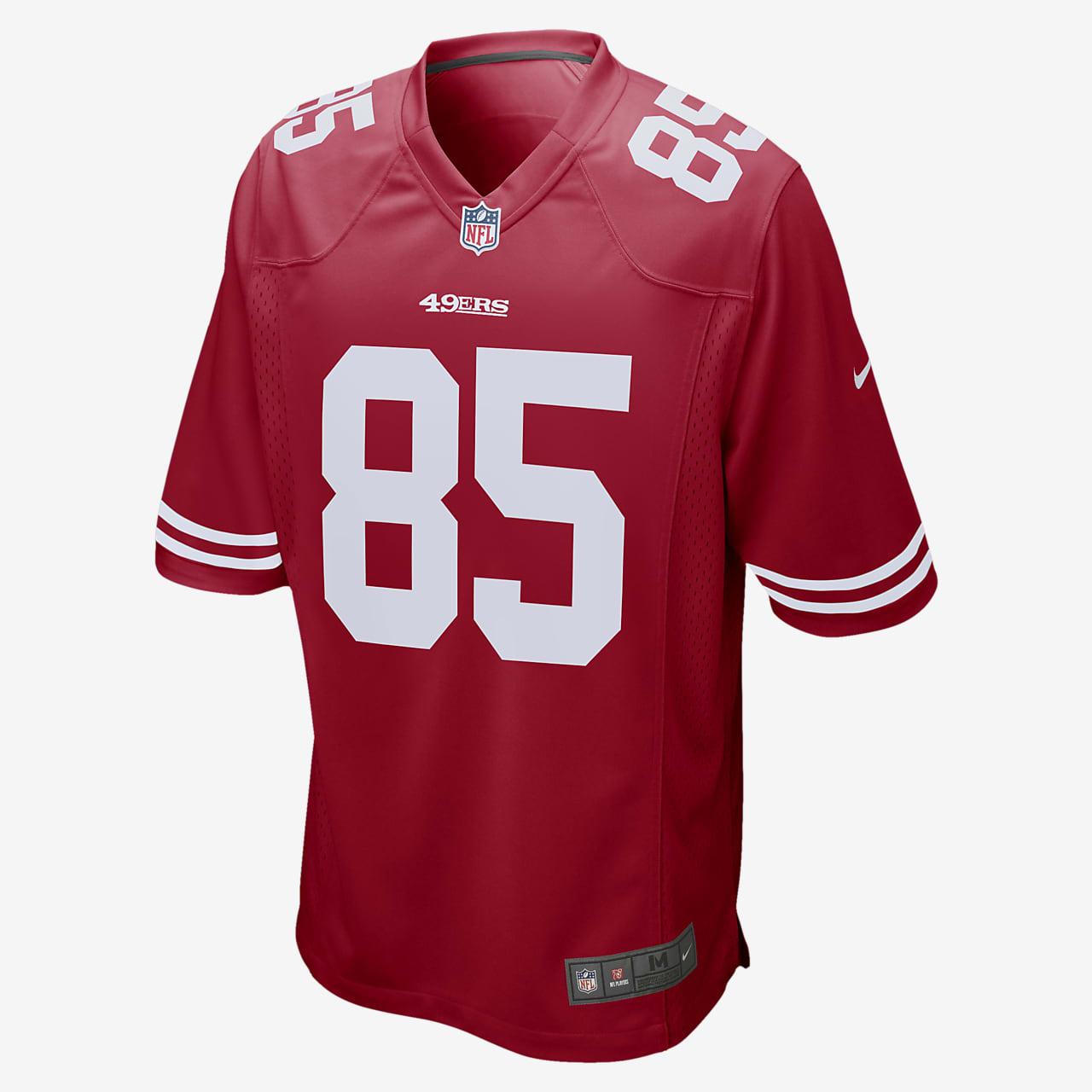 NFL San Francisco 49ers (George Kittle) Men's Game Football Jersey