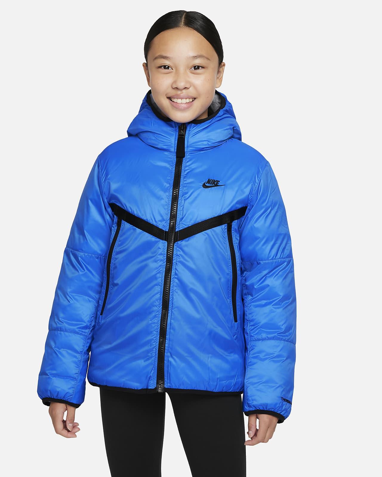 Куртка с синтетическим наполнителем для школьников Windrunner Nike Sportswear Therma-FIT