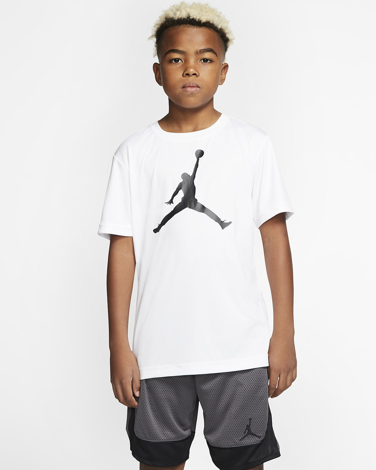 Jordan Jumpman Dri-FIT Big Kids' (Boys') Short-Sleeve T-Shirt