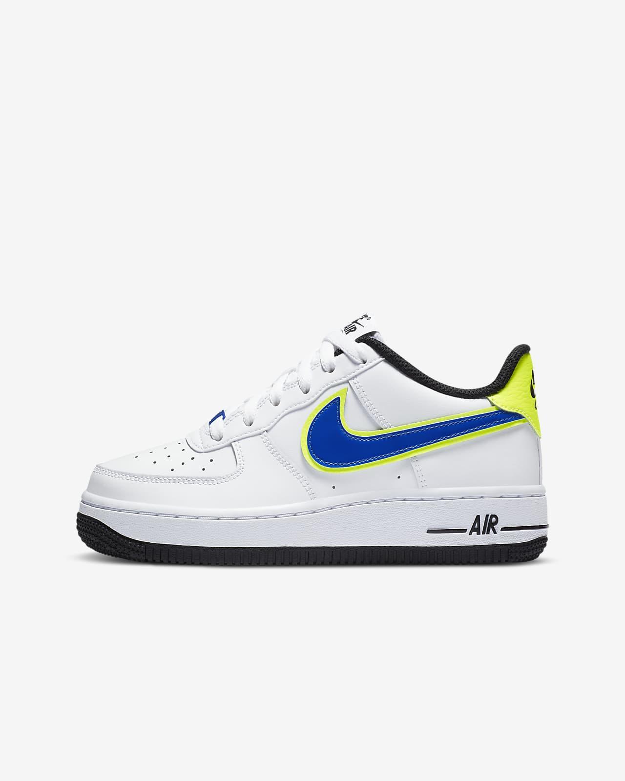 Nike Air Force 1-'07-sko til store børn