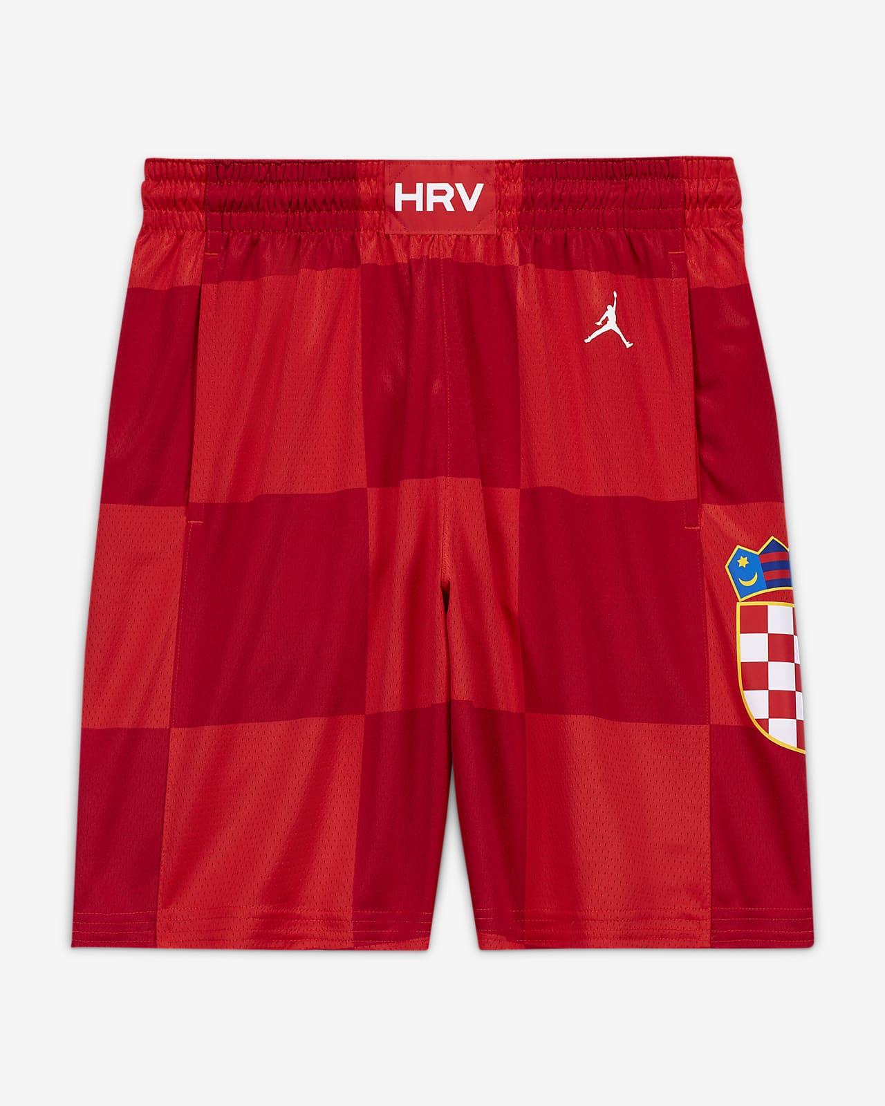 Męskie spodenki do koszykówki Chorwacja Jordan (Road) Limited