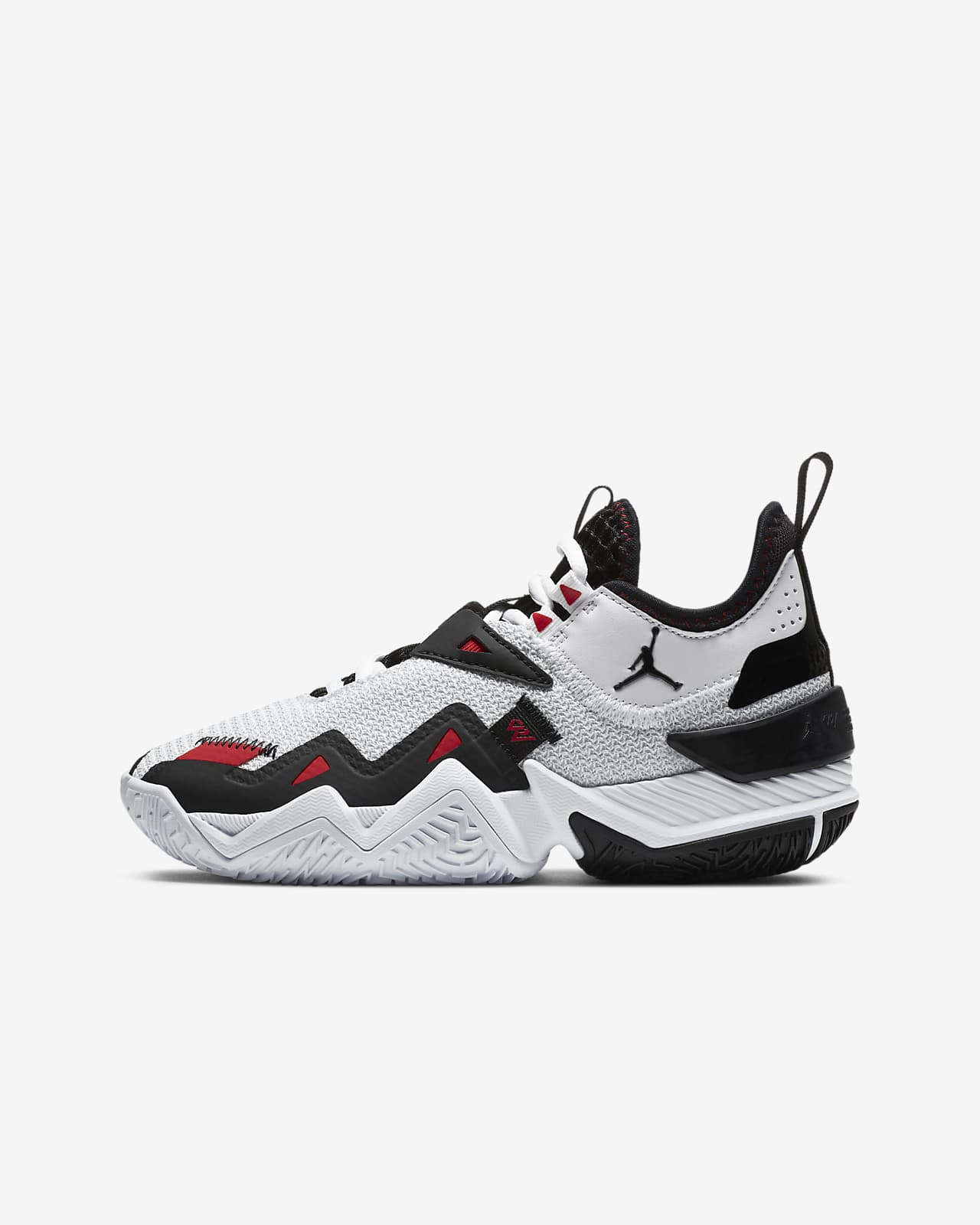 one black one white basketball shoes