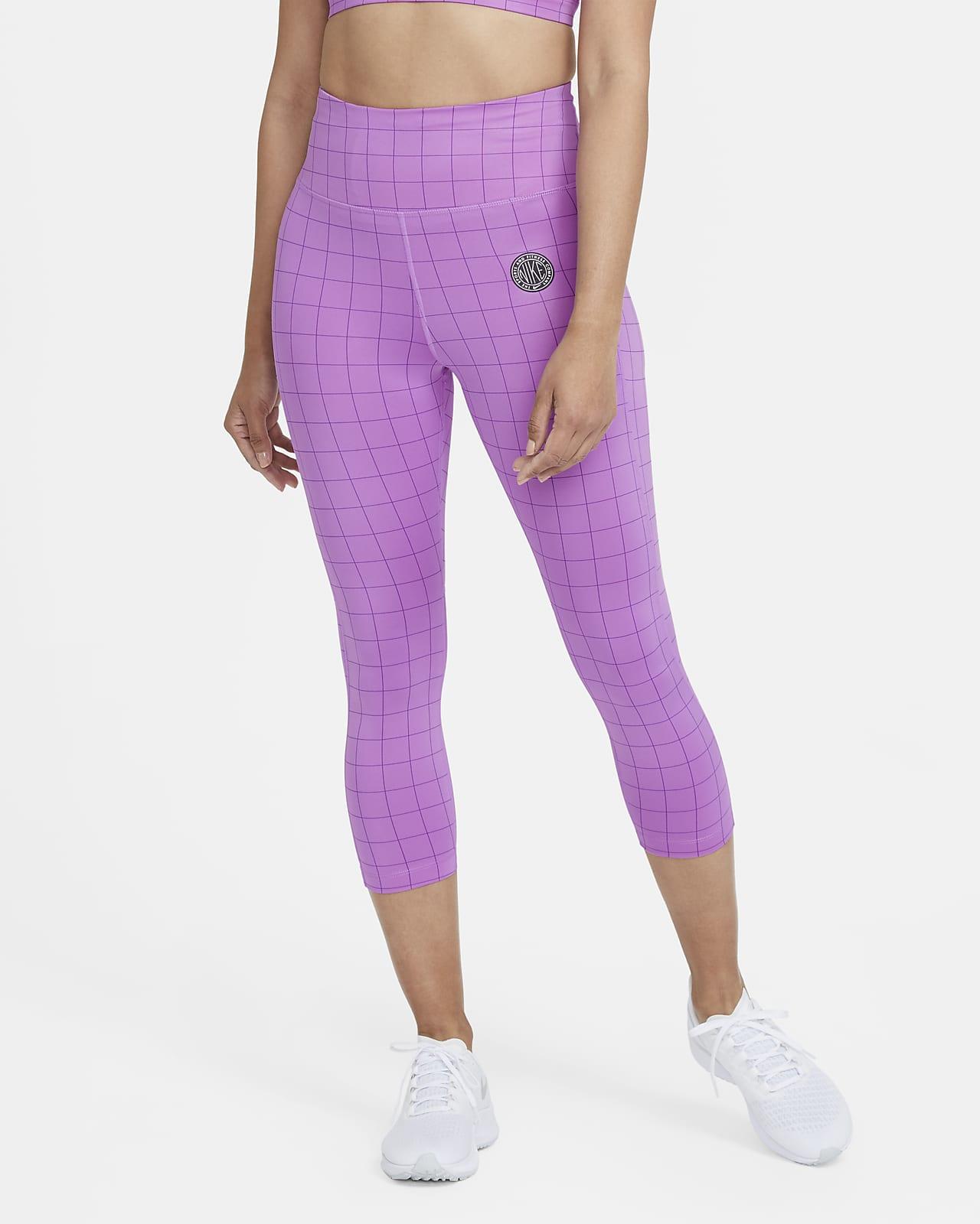 เลกกิ้งวิ่งเอวปานกลาง 5 ส่วนผู้หญิง Nike Epic Fast Femme